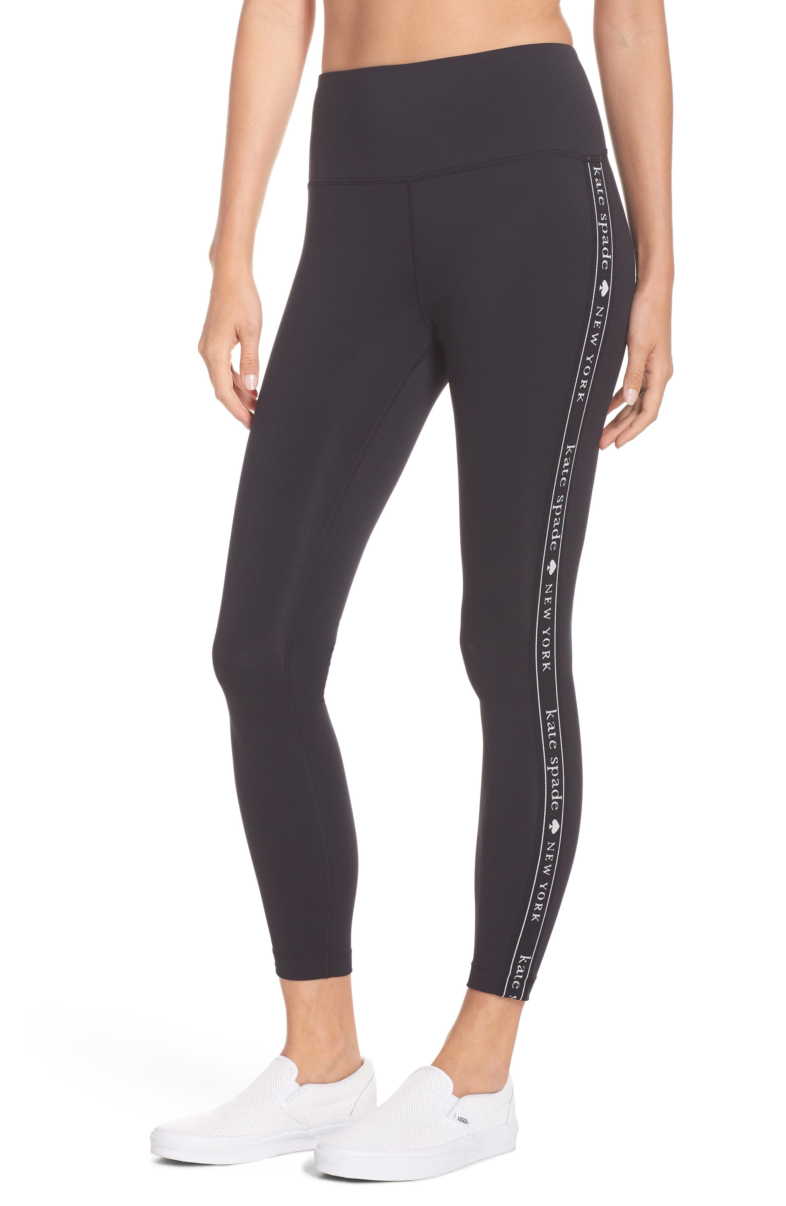 Logo Crop Leggings by Kate Spade New York
