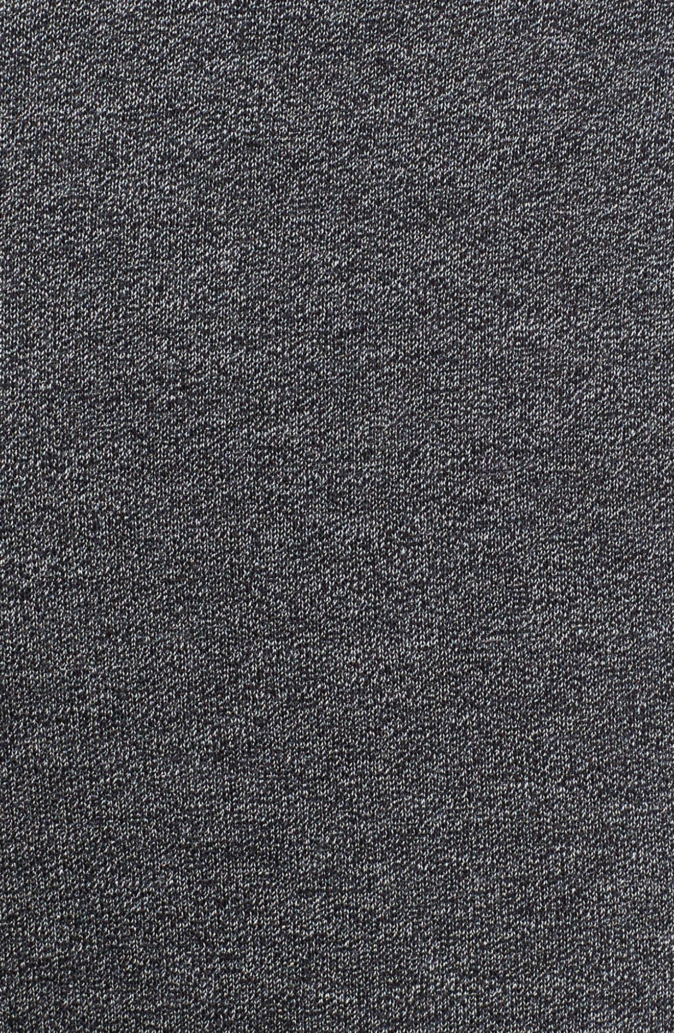 Heritage Jogger Pants,                             Alternate thumbnail 5, color,                             BLACK/ HEATHER/ SAIL