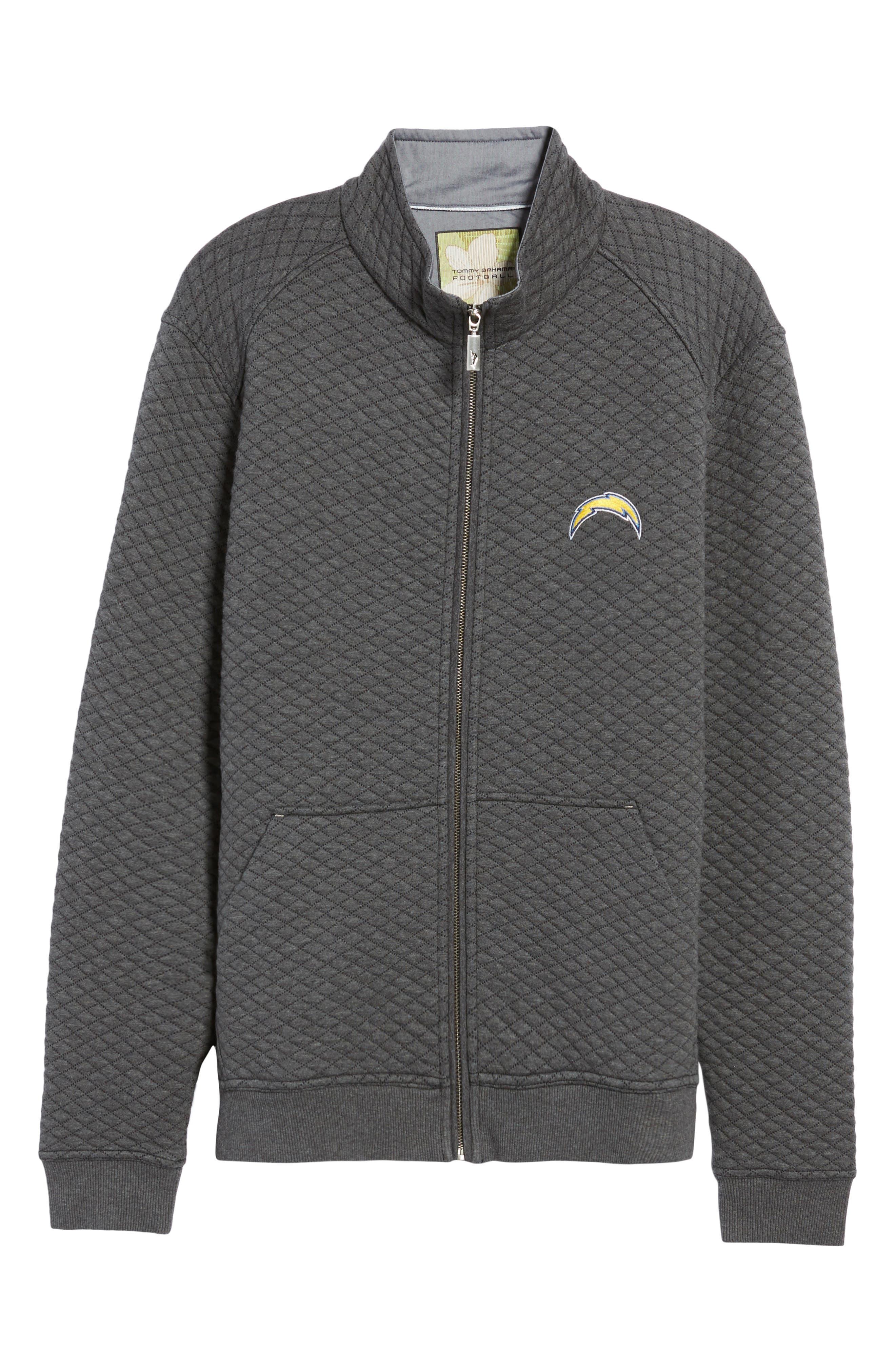 NFL Quiltessential Full Zip Sweatshirt,                             Alternate thumbnail 164, color,