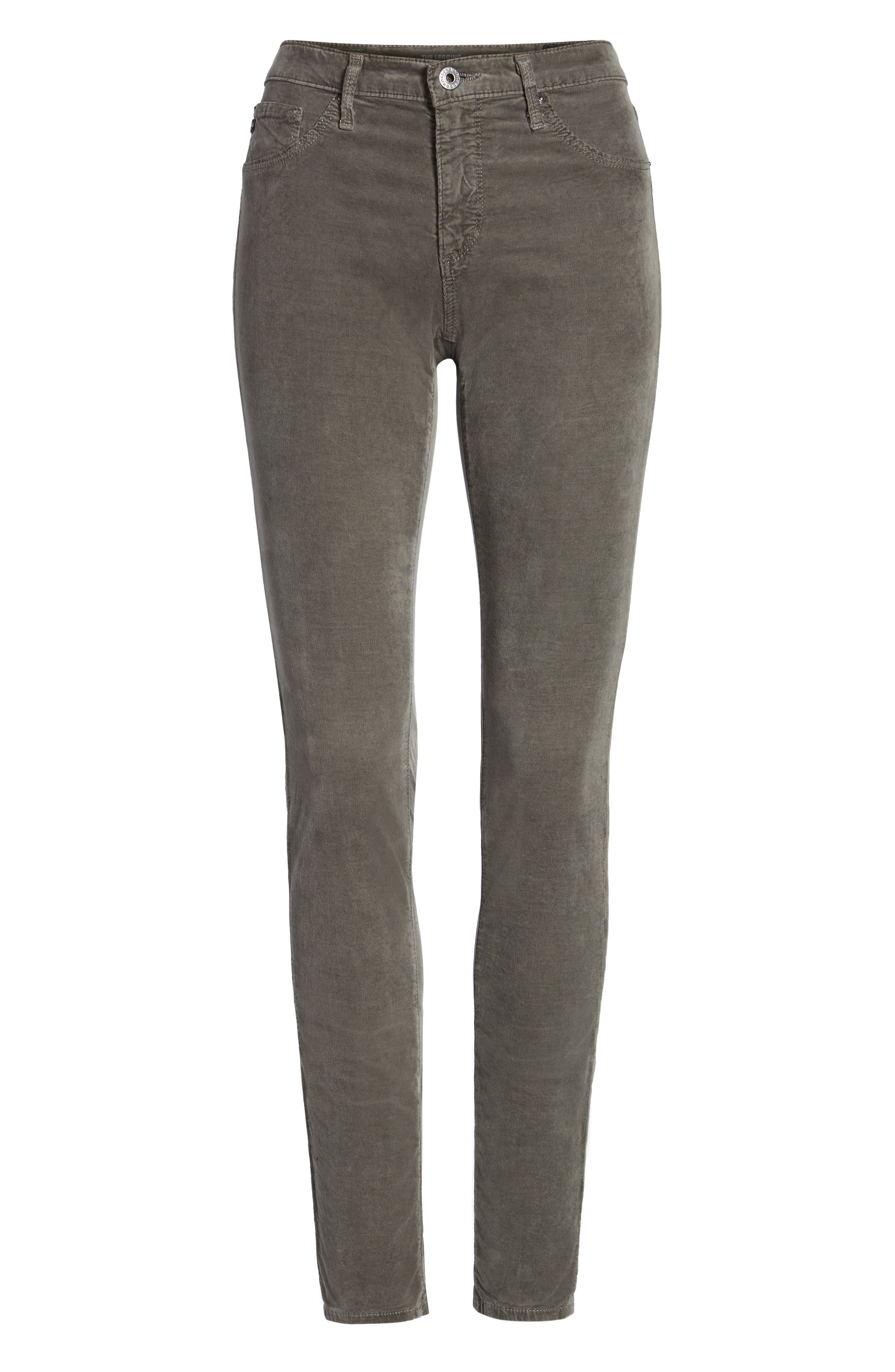 The Legging Super Skinny Corduroy Pants,                             Alternate thumbnail 6, color,                             029