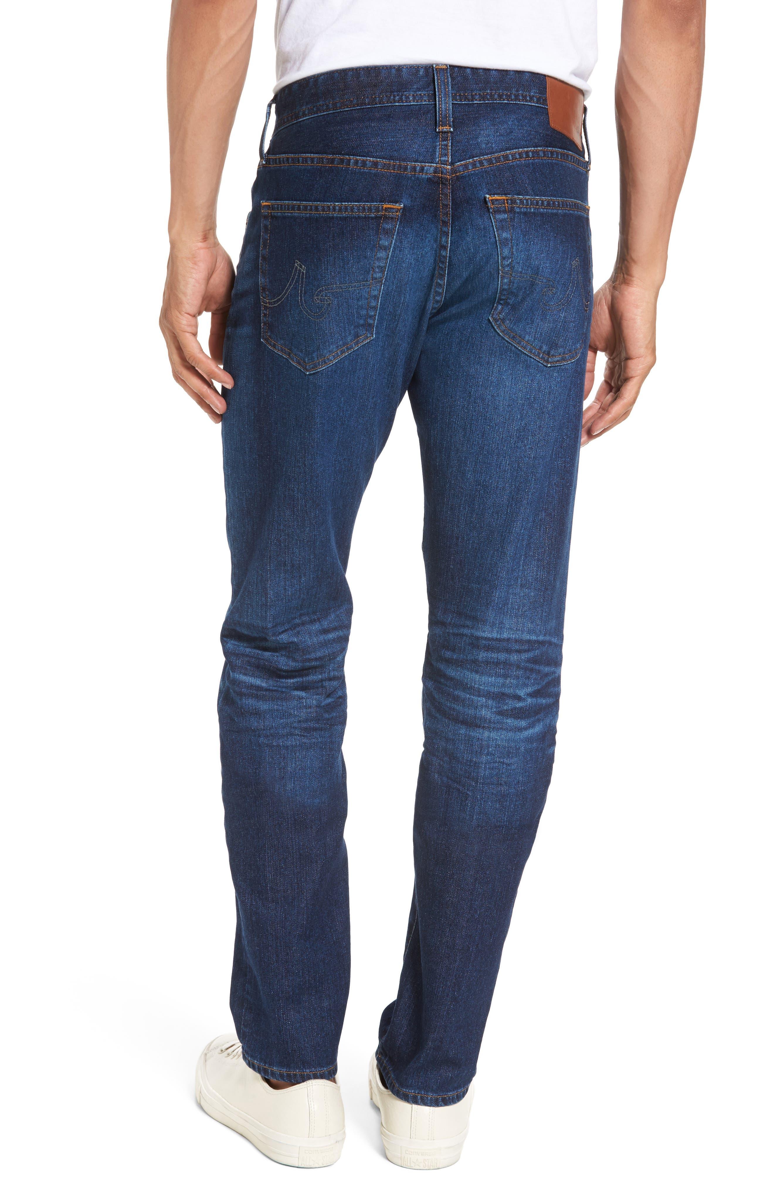 Tellis Slim Fit Jeans,                             Alternate thumbnail 2, color,                             451