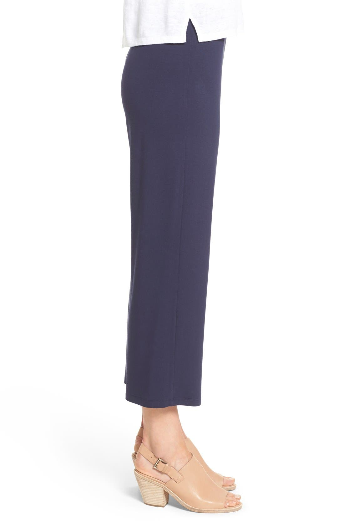 Crop Jersey Pants,                             Alternate thumbnail 8, color,