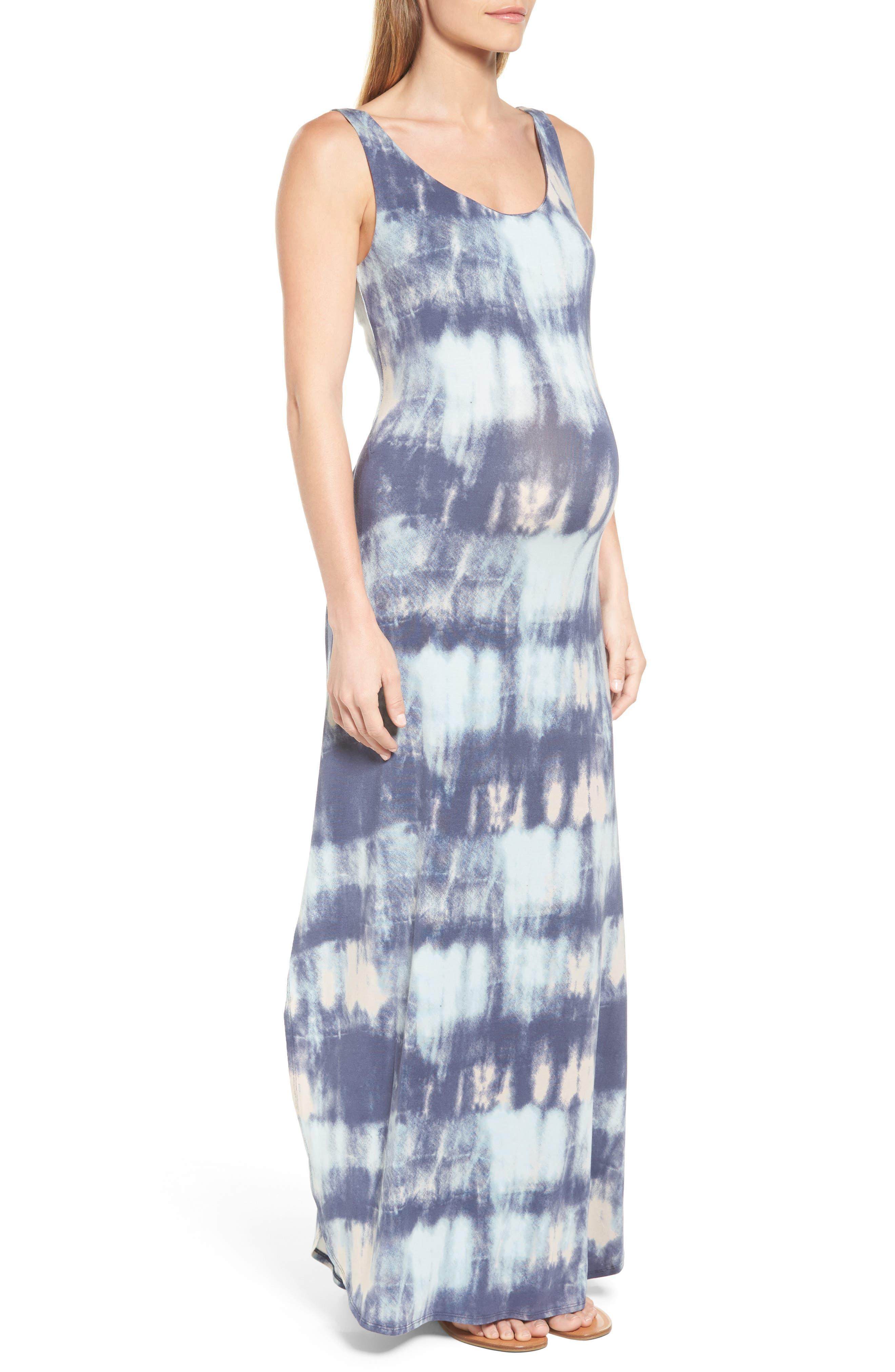 Jack Maxi Dress,                             Alternate thumbnail 5, color,