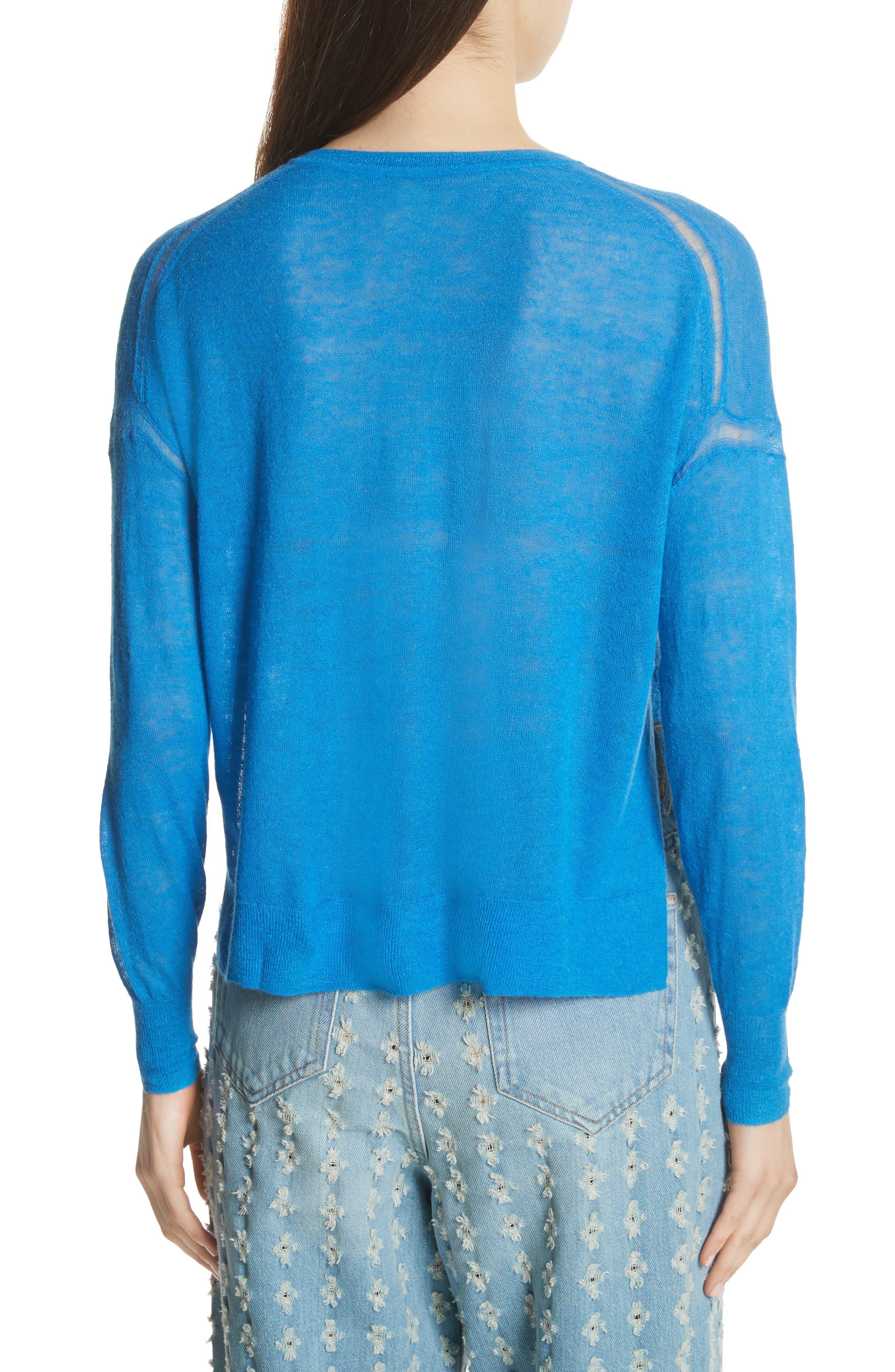 Isabel Marant Étoile Wool & Alpaca Blend Sweater,                             Alternate thumbnail 2, color,