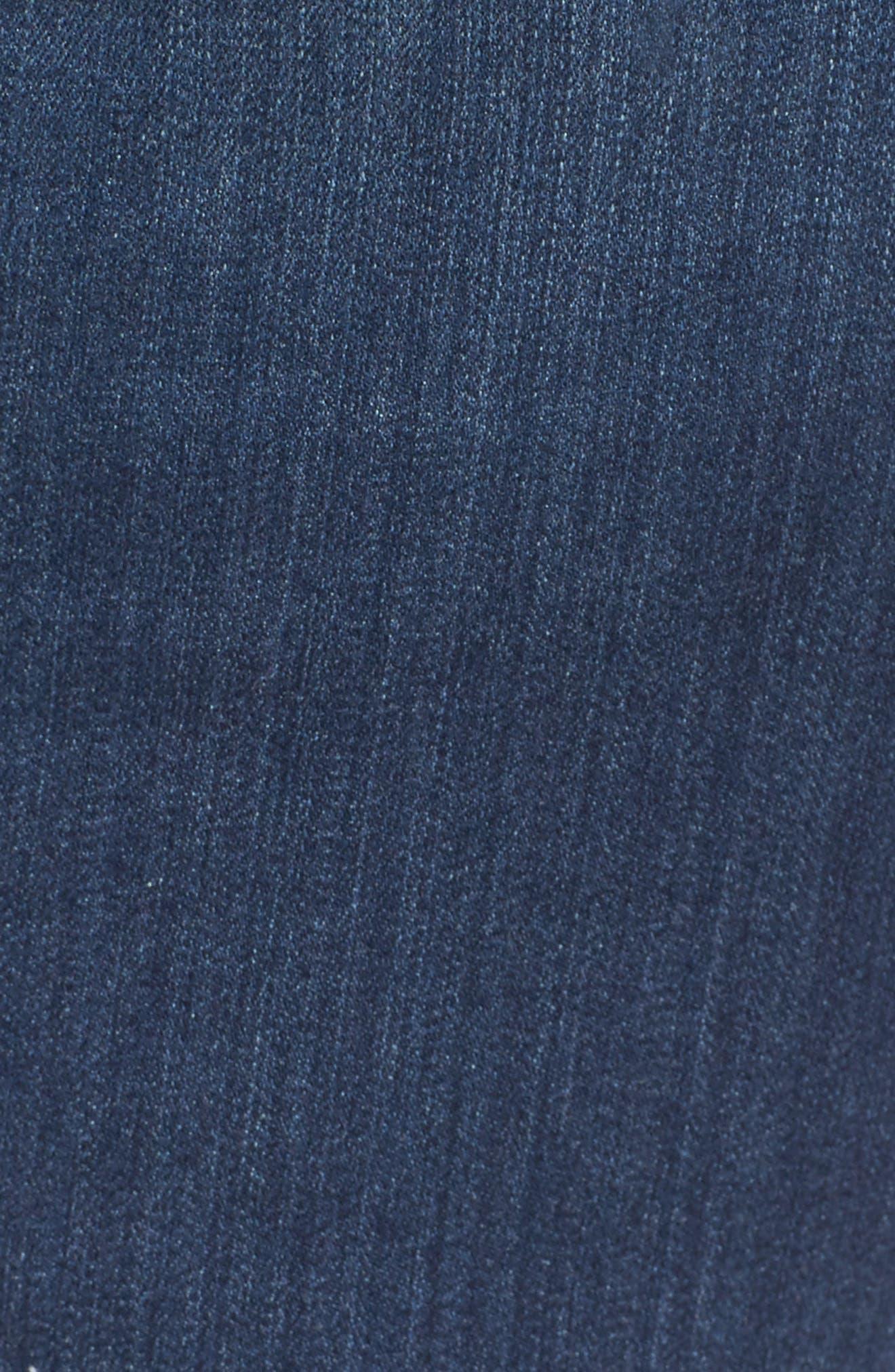 Ami Release Hem Stretch Skinny Jeans,                             Alternate thumbnail 5, color,                             428