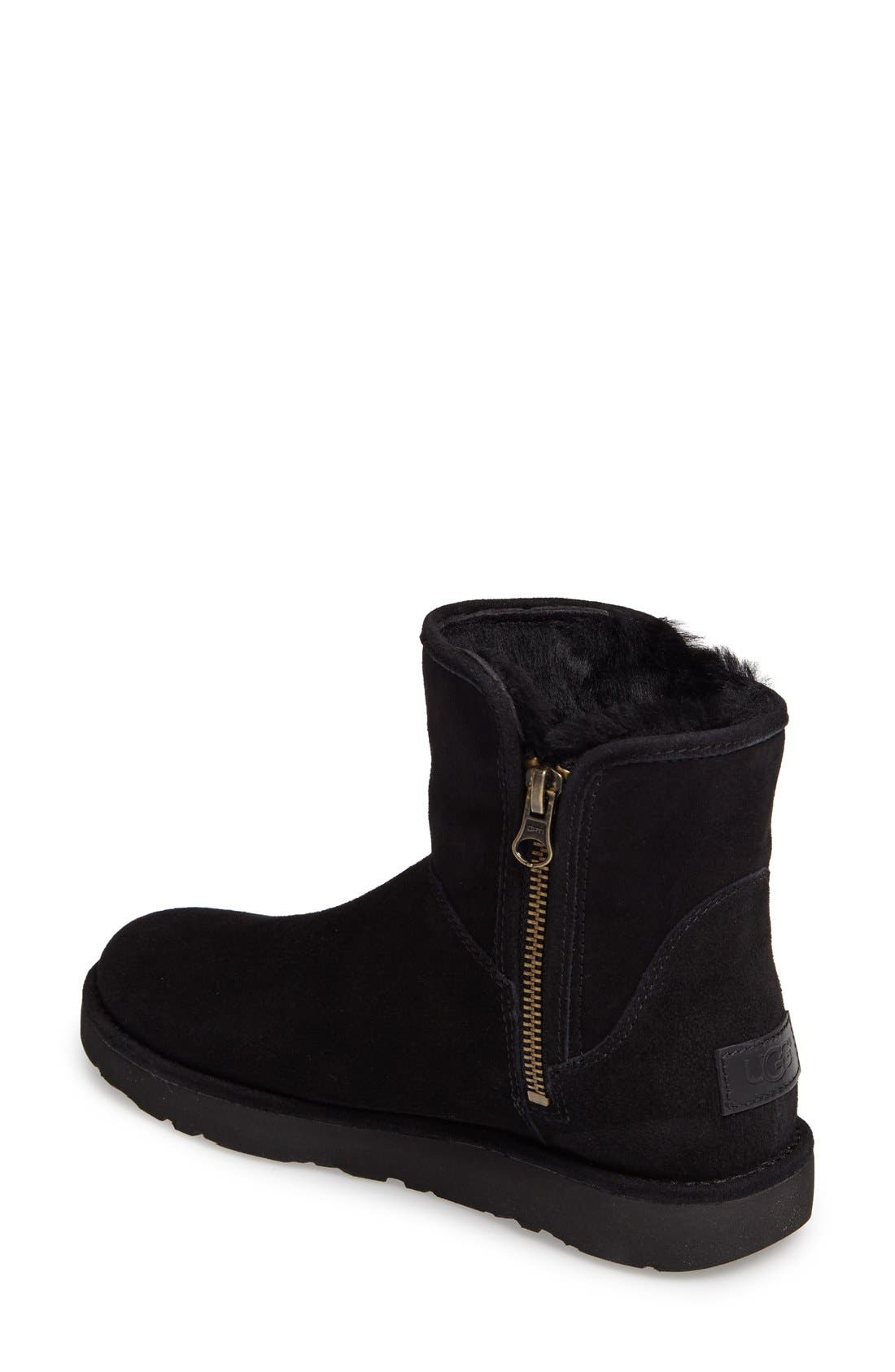 Abree II Mini Boot,                             Alternate thumbnail 6, color,                             NERO SUEDE