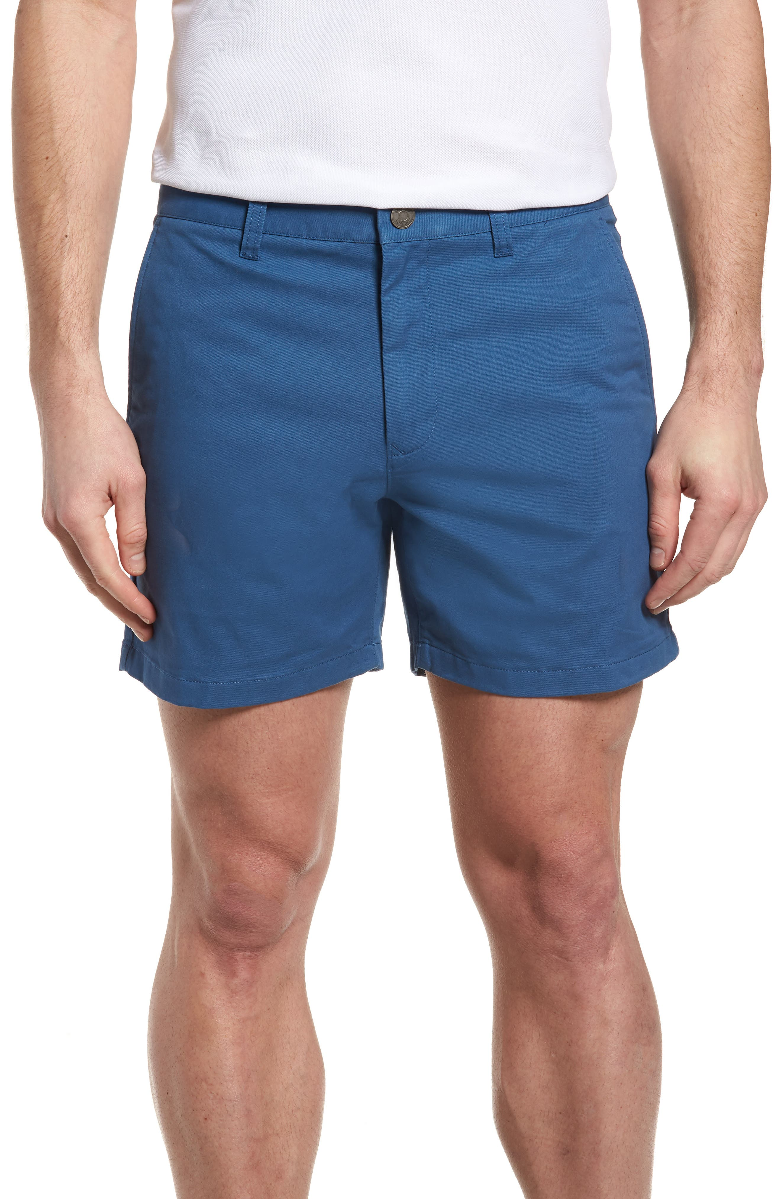 Stretch Washed Chino 5-Inch Shorts,                             Main thumbnail 10, color,