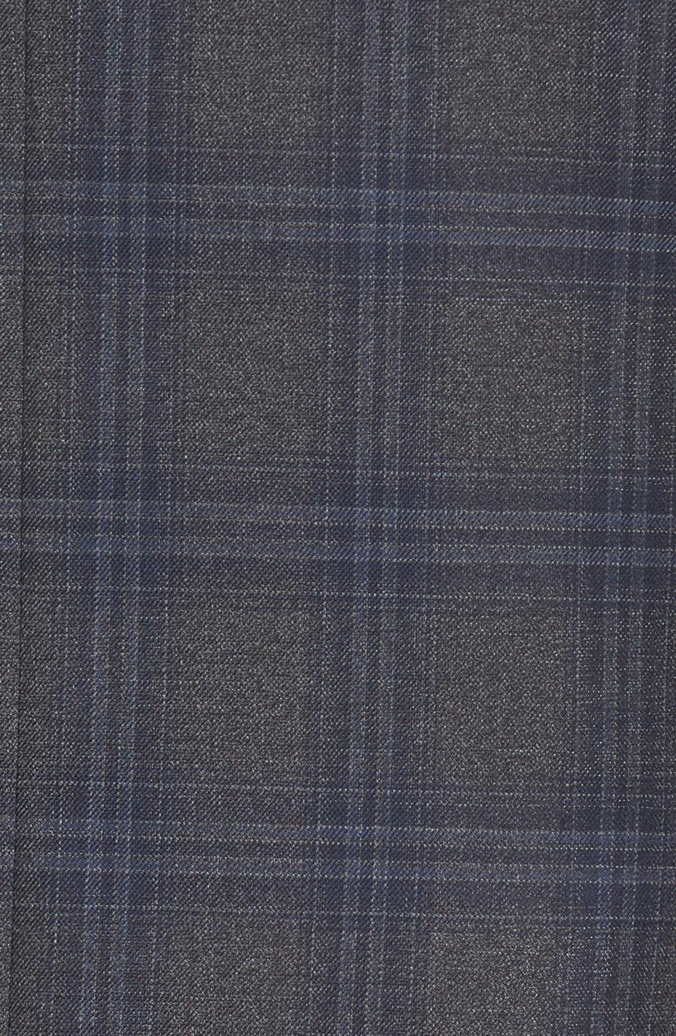 PETER MILLAR,                             Classic Fit Plaid Wool Sport Coat,                             Alternate thumbnail 6, color,                             020