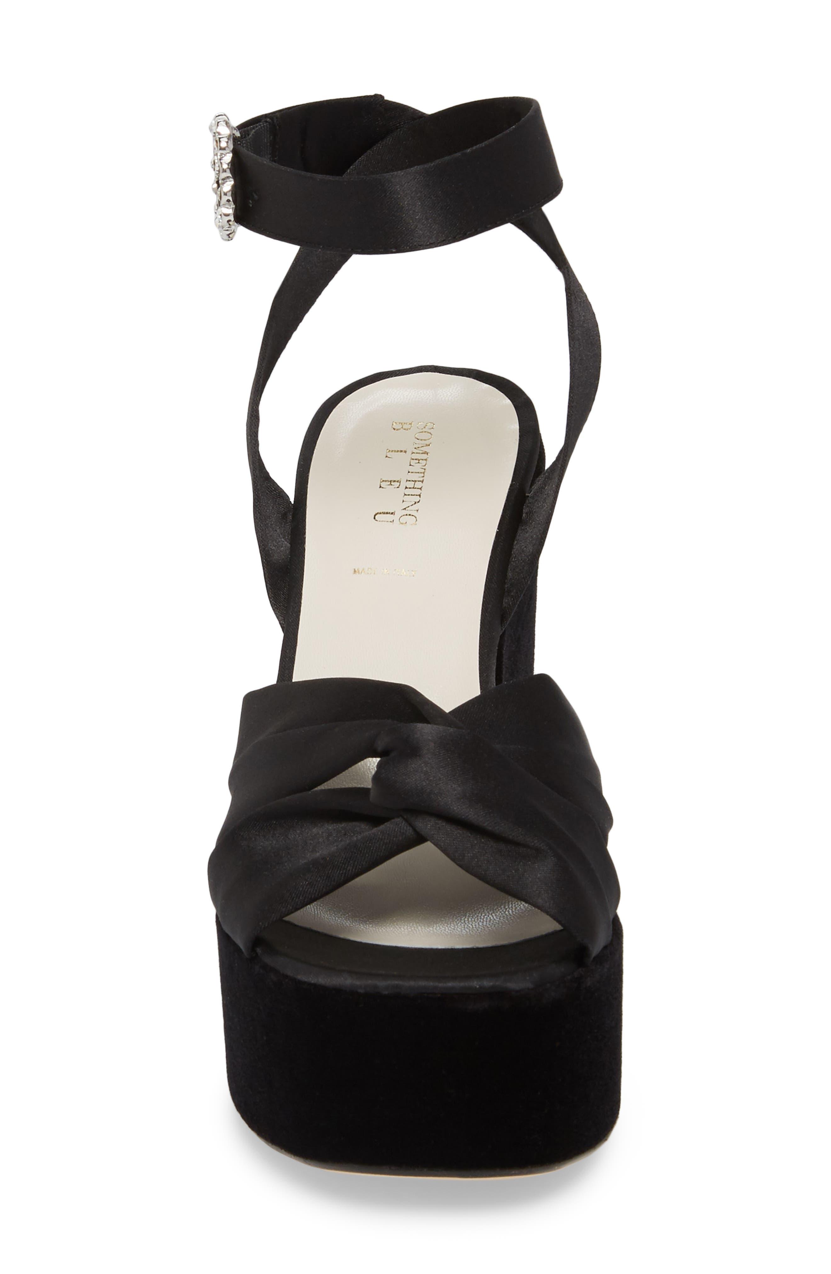 Serena Brocade Platform Sandal,                             Alternate thumbnail 13, color,