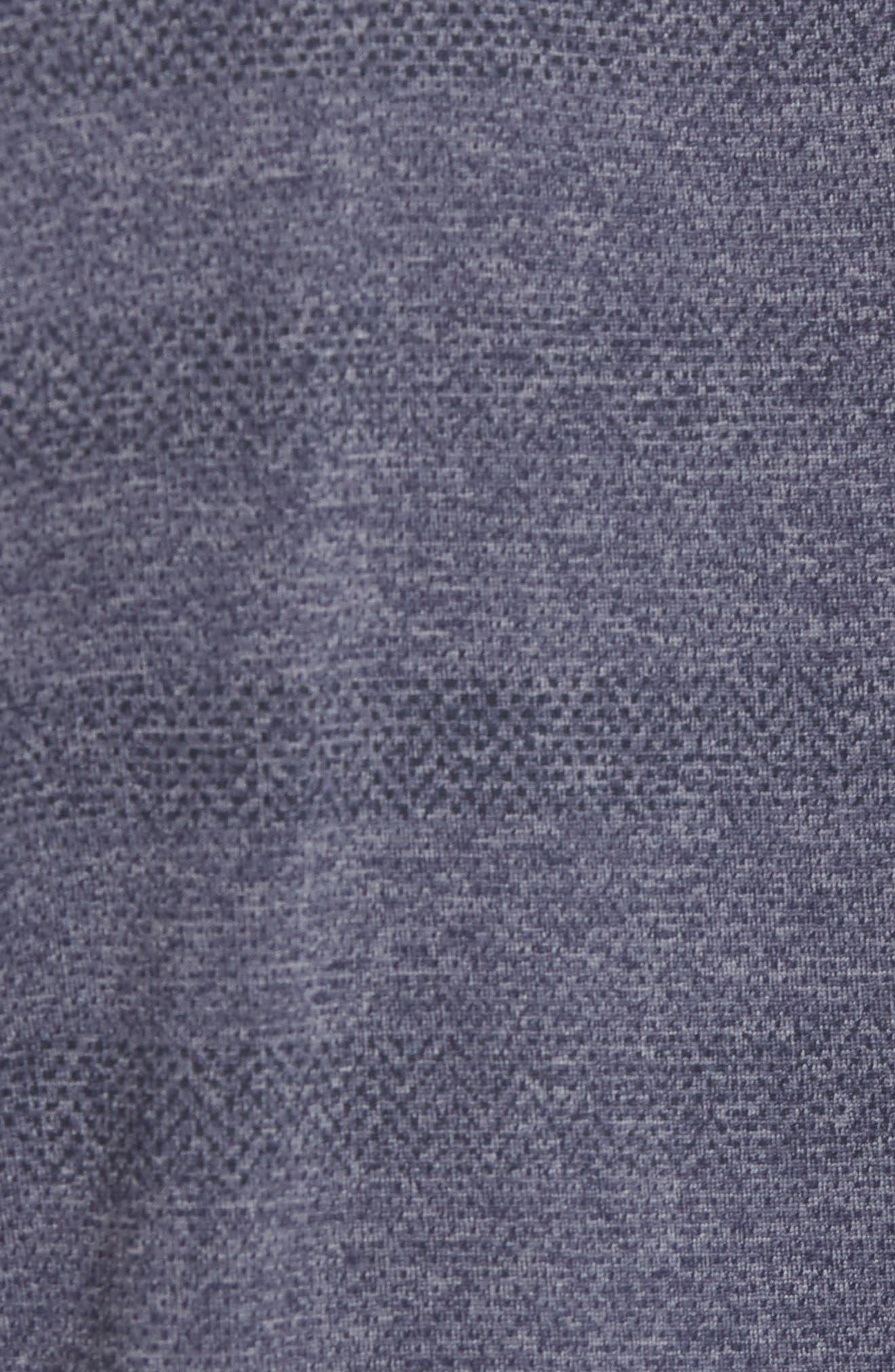 Upshift T-Shirt,                             Alternate thumbnail 5, color,                             HEATHER GRIFFIN