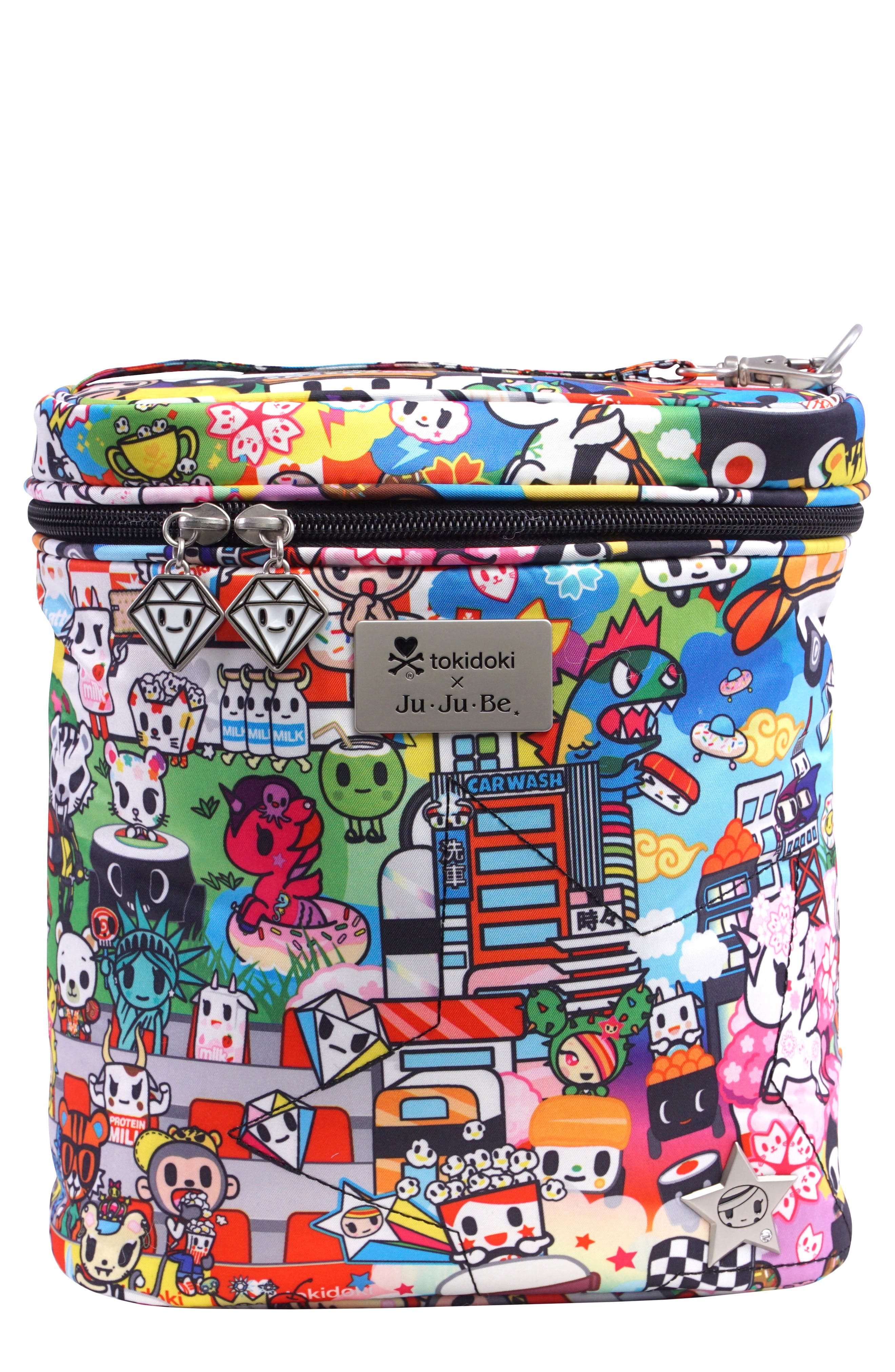 tokidoki x Ju-Ju-Be 'Fuel Cell' Lunch Bag,                             Main thumbnail 1, color,                             100