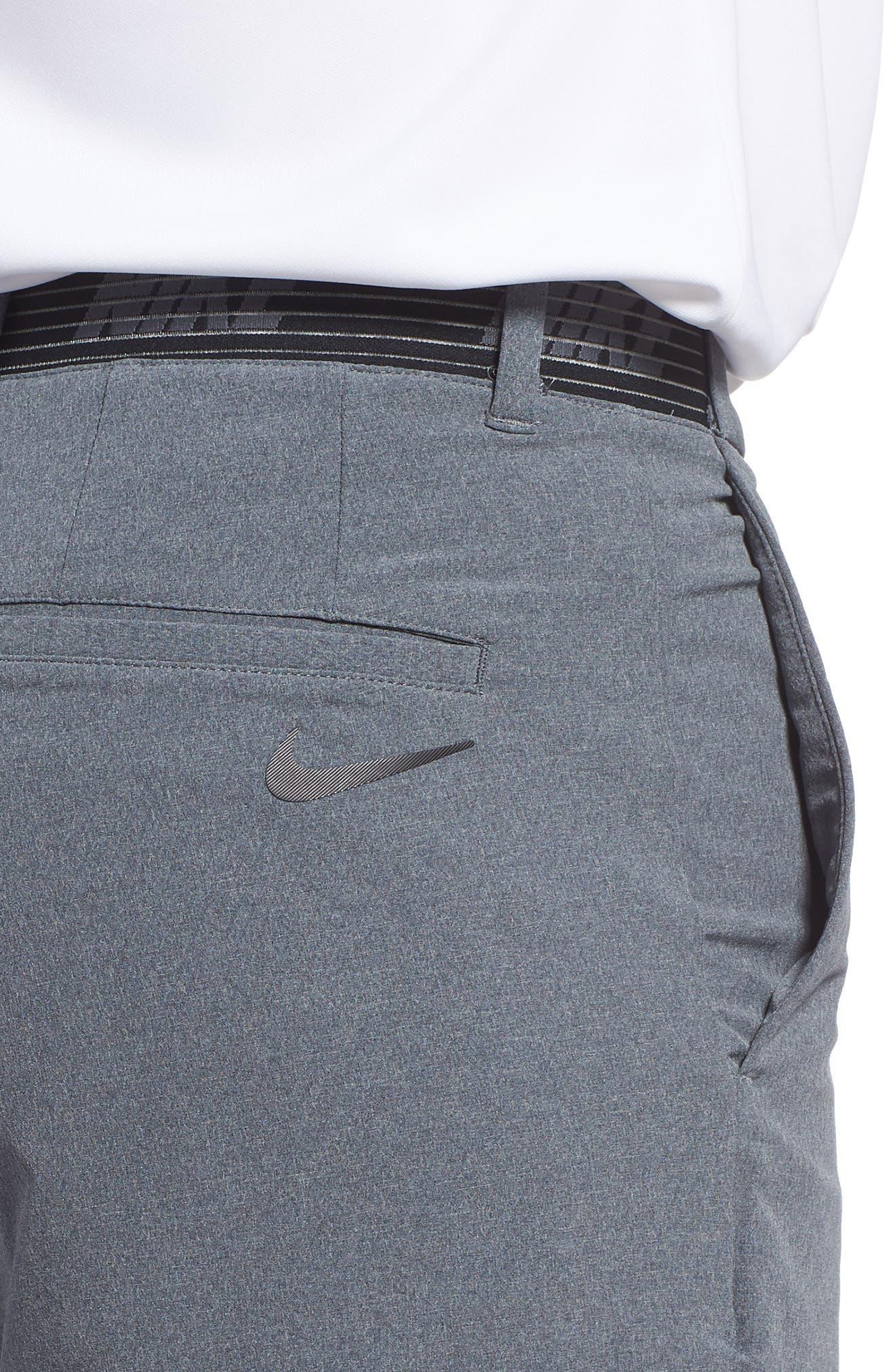 Dry Flex Slim Fit Golf Shorts,                             Alternate thumbnail 4, color,                             001