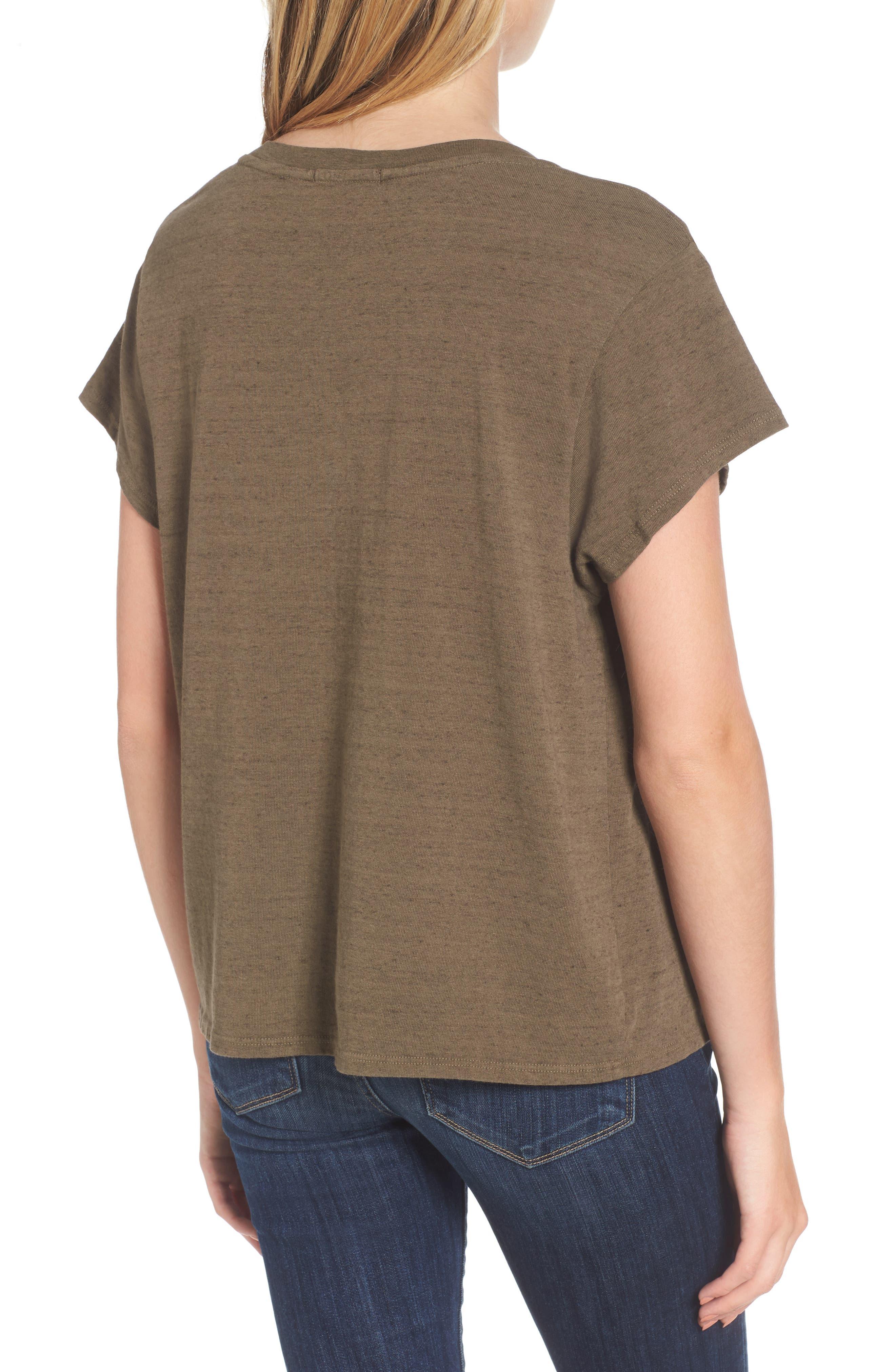 Vintage Sweatshirt Tee,                             Alternate thumbnail 2, color,                             305