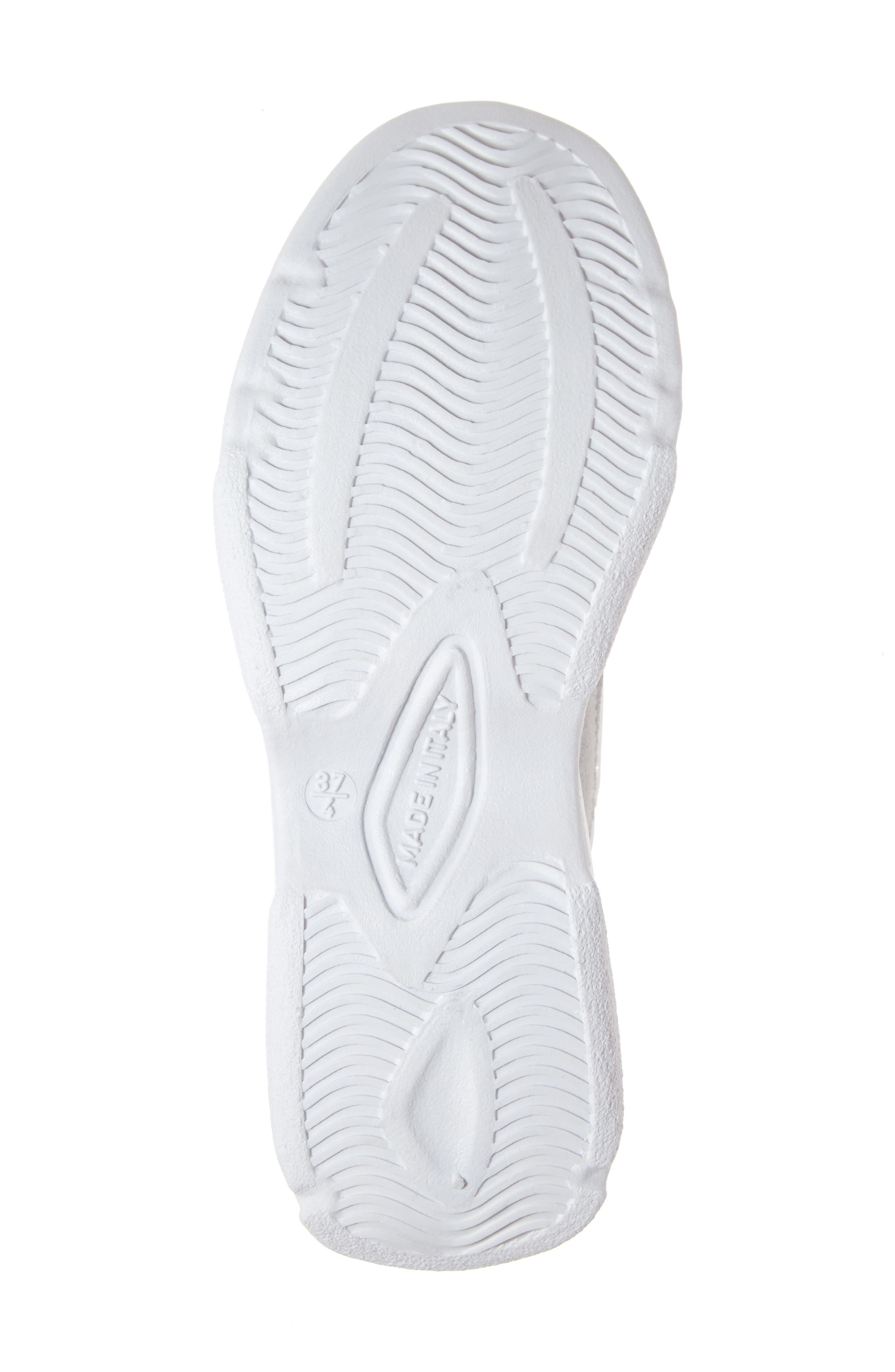 Ciara Chunky Sneaker,                             Alternate thumbnail 6, color,                             WHITE MULTI
