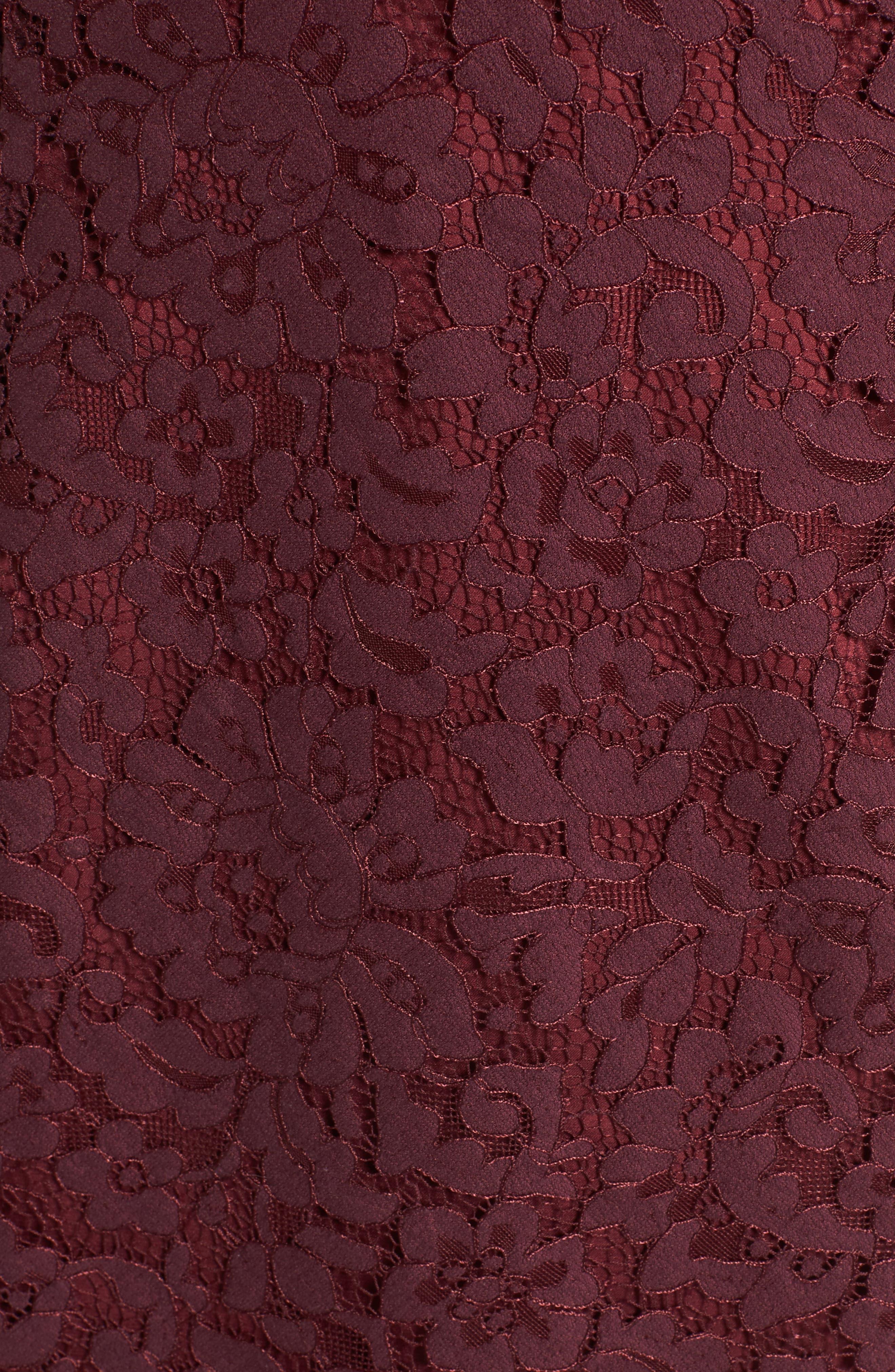Skylight Lace Midi Dress,                             Alternate thumbnail 5, color,                             938