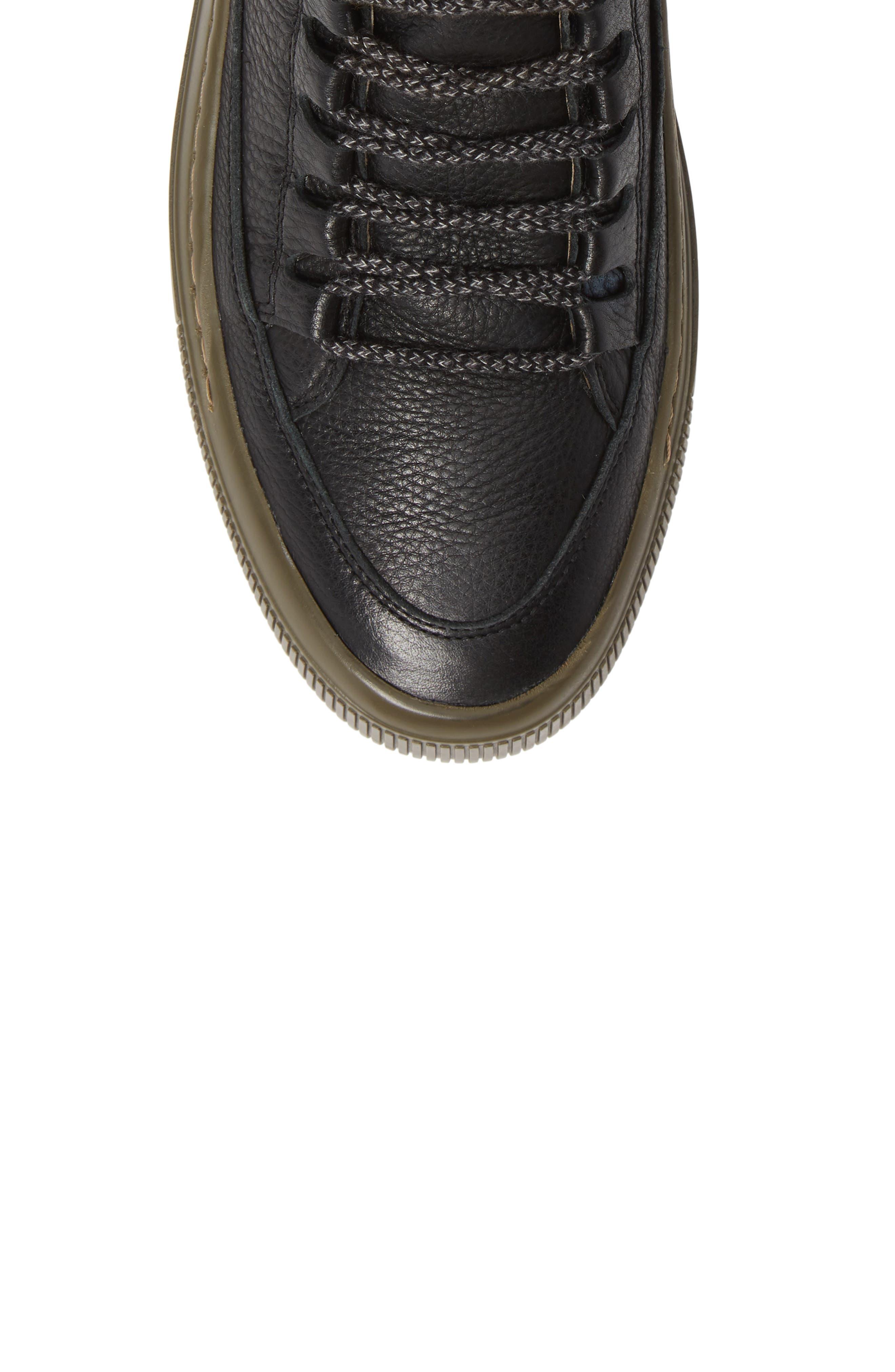 Samu Sneaker,                             Alternate thumbnail 5, color,                             BLACK/ NICOTINE BRITO