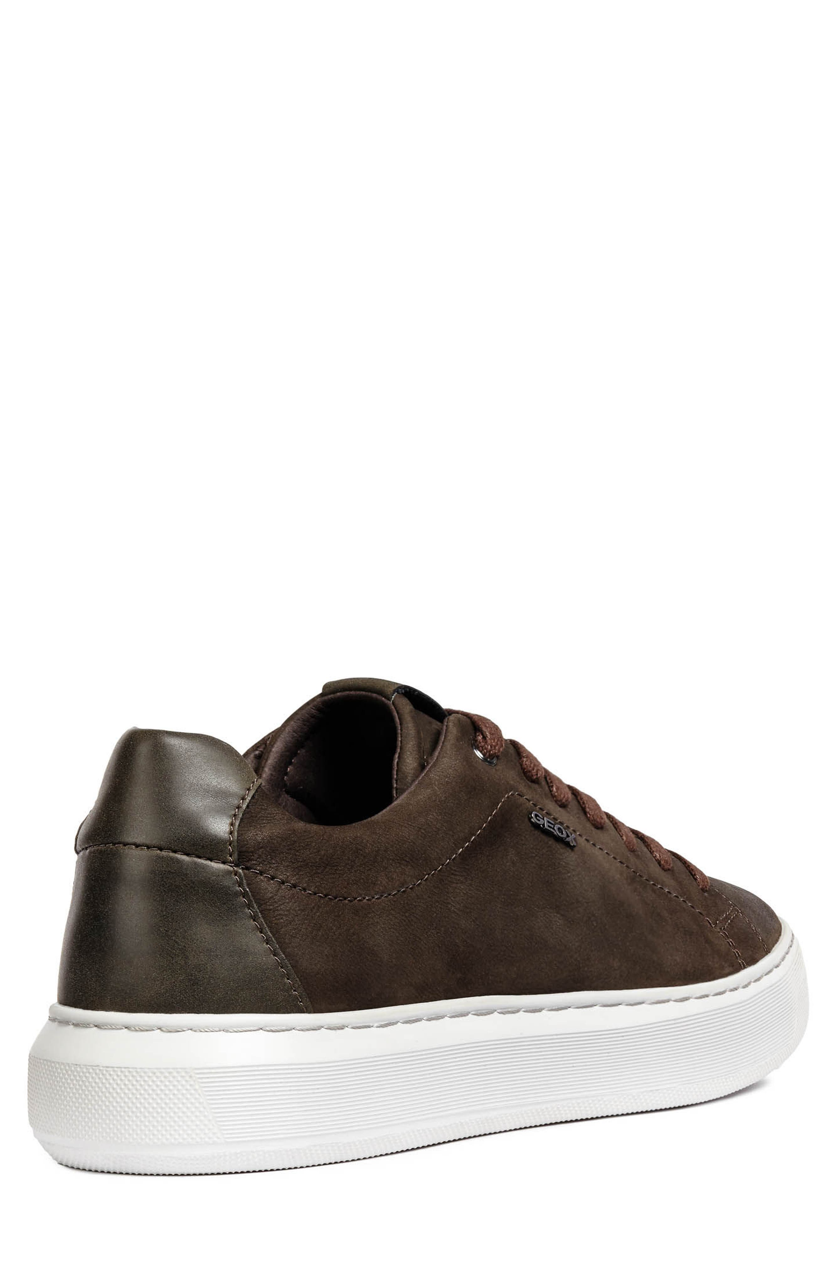 Deiven 5 Low Top Sneaker,                             Alternate thumbnail 2, color,                             DARK COFFEE LEATHER