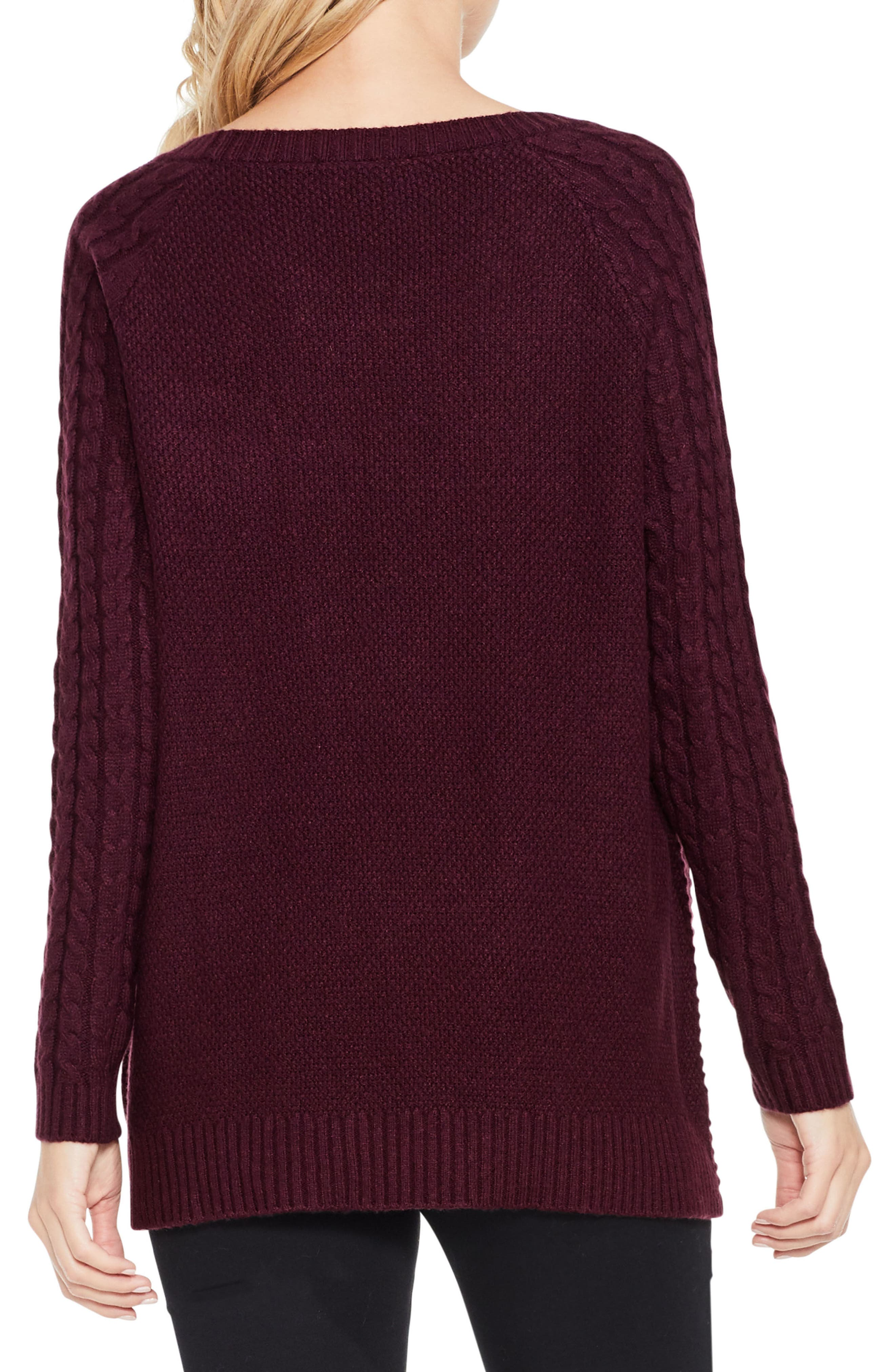 Mixed Stitch Sweater,                             Alternate thumbnail 10, color,