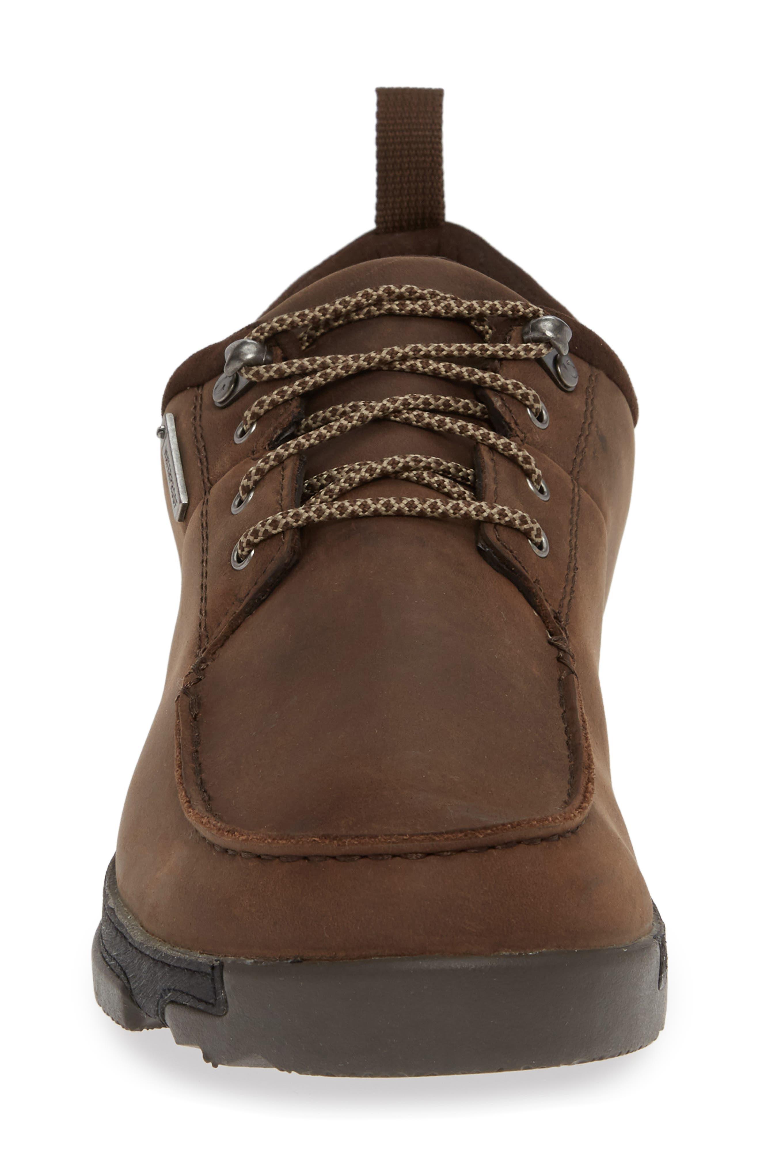Makoa Waterproof Shoe,                             Alternate thumbnail 4, color,                             ESPRESSO/ BLACK LEATHER