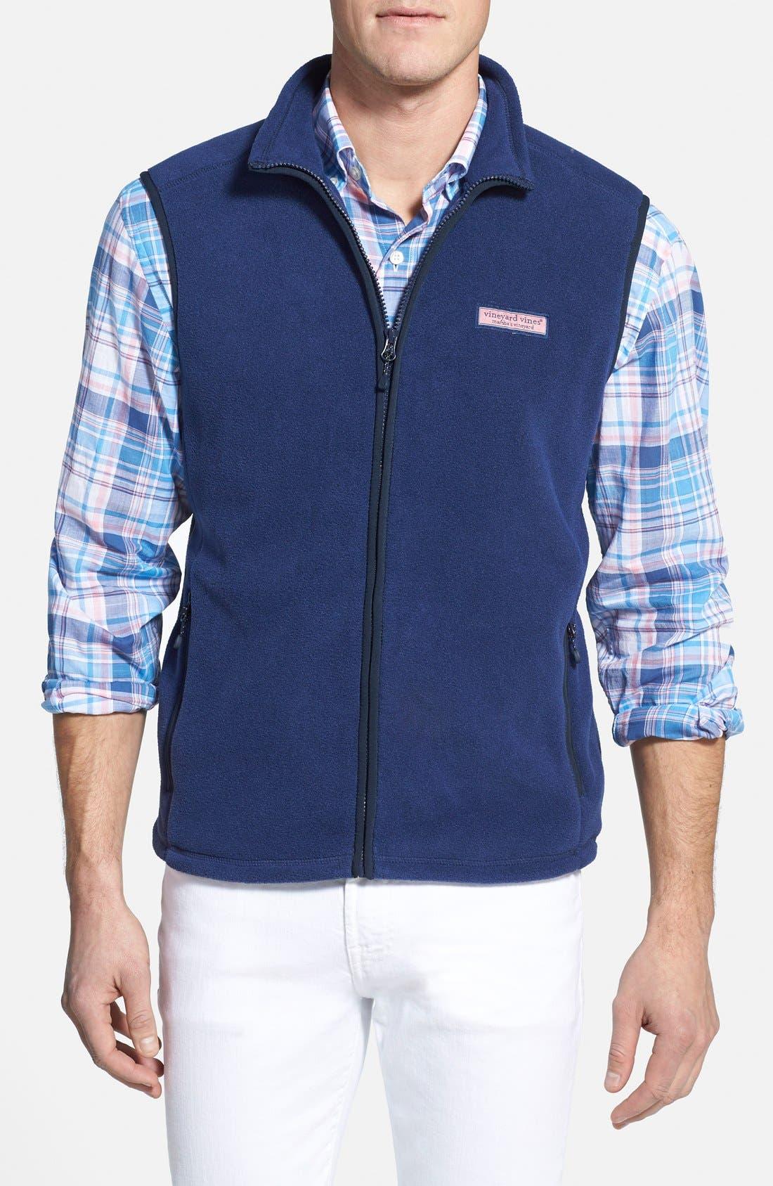 Fleece Vest,                         Main,                         color, 407