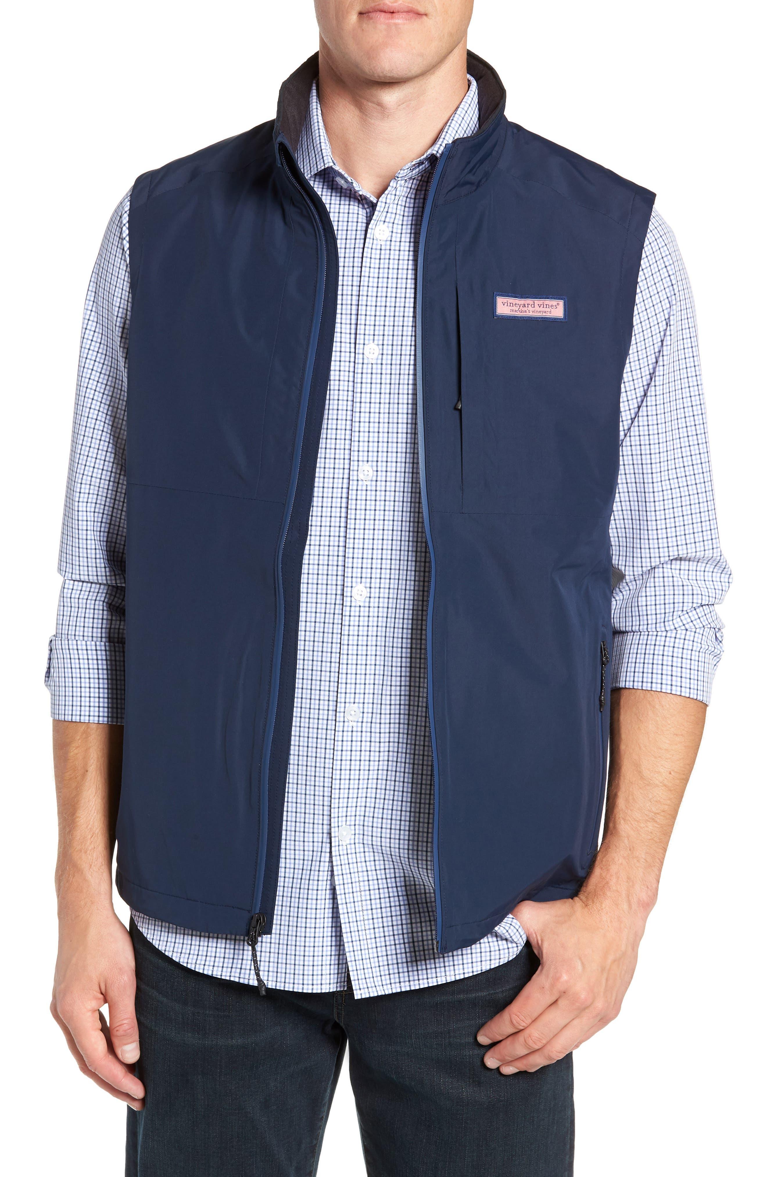 Tech Windbreaker Vest,                         Main,                         color, 410