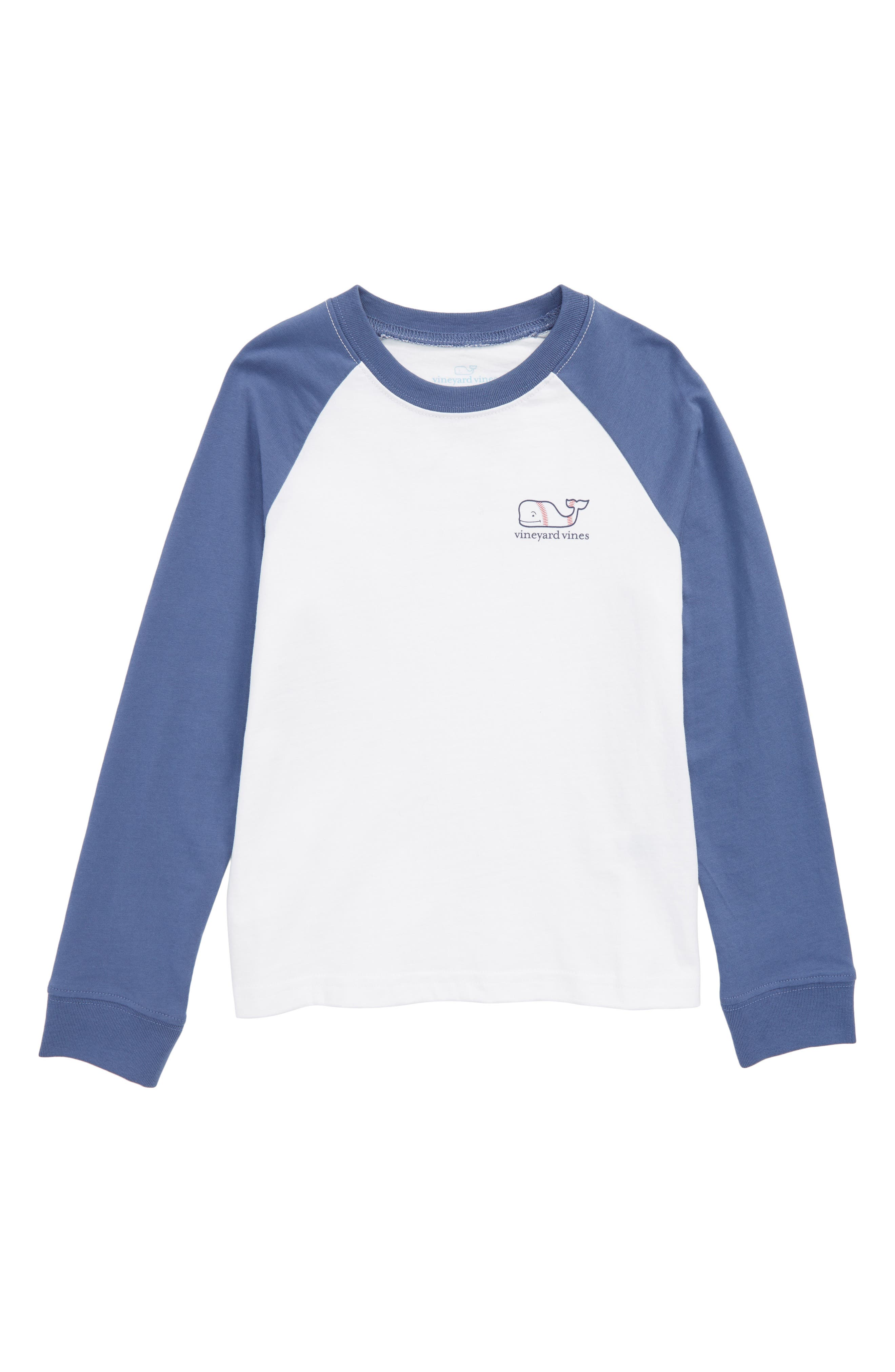 Whale Baseball T-Shirt,                         Main,                         color,