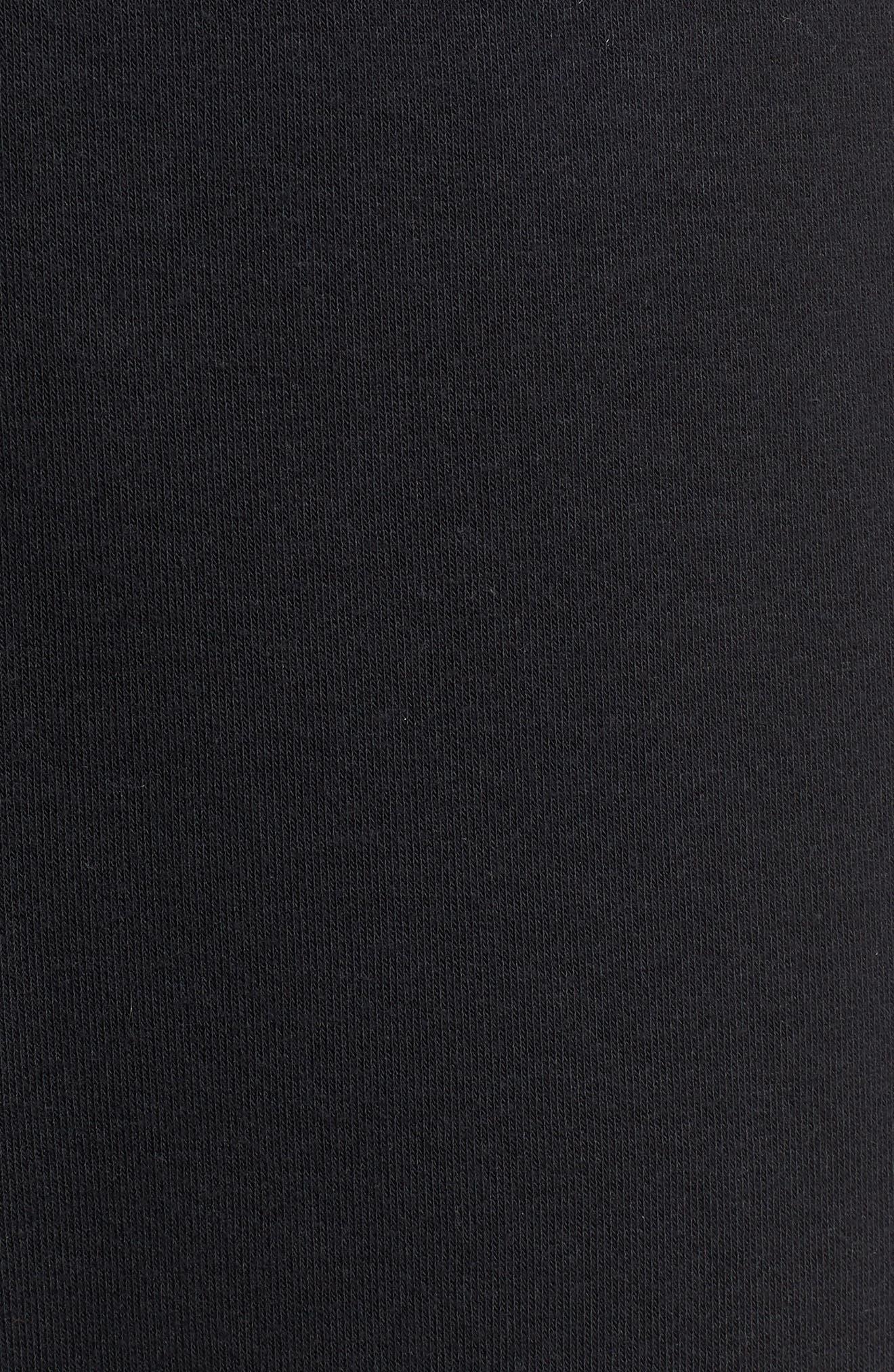 Heritage Jogger Pants,                             Alternate thumbnail 5, color,                             BLACK/ SAIL