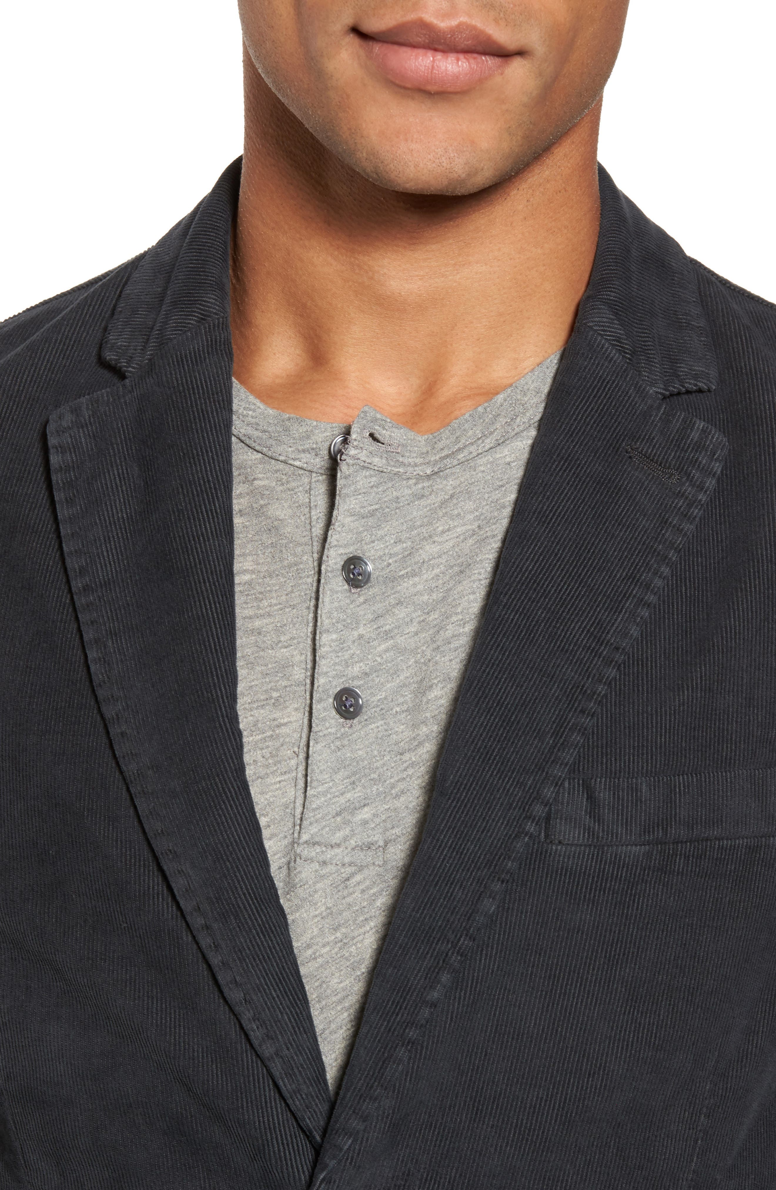 Stretch Corduroy Jacket,                             Alternate thumbnail 4, color,                             020