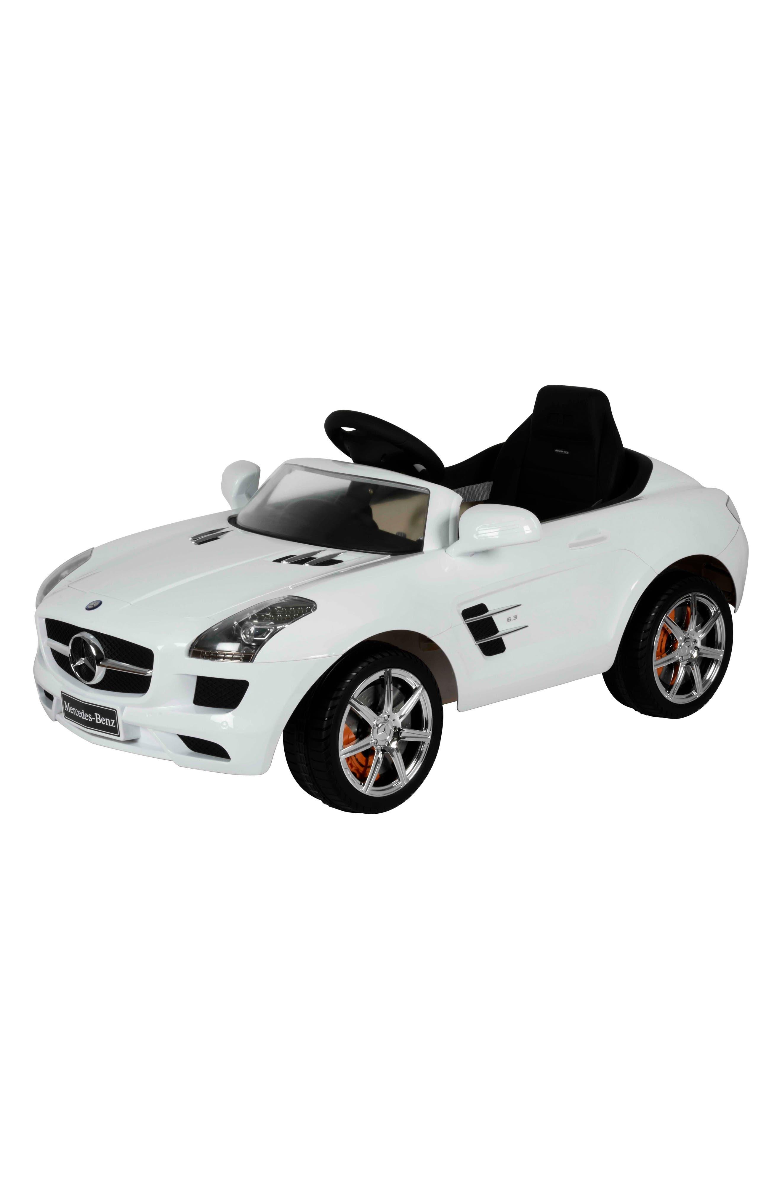 Mercedes SLS Ride-On Car,                         Main,                         color,