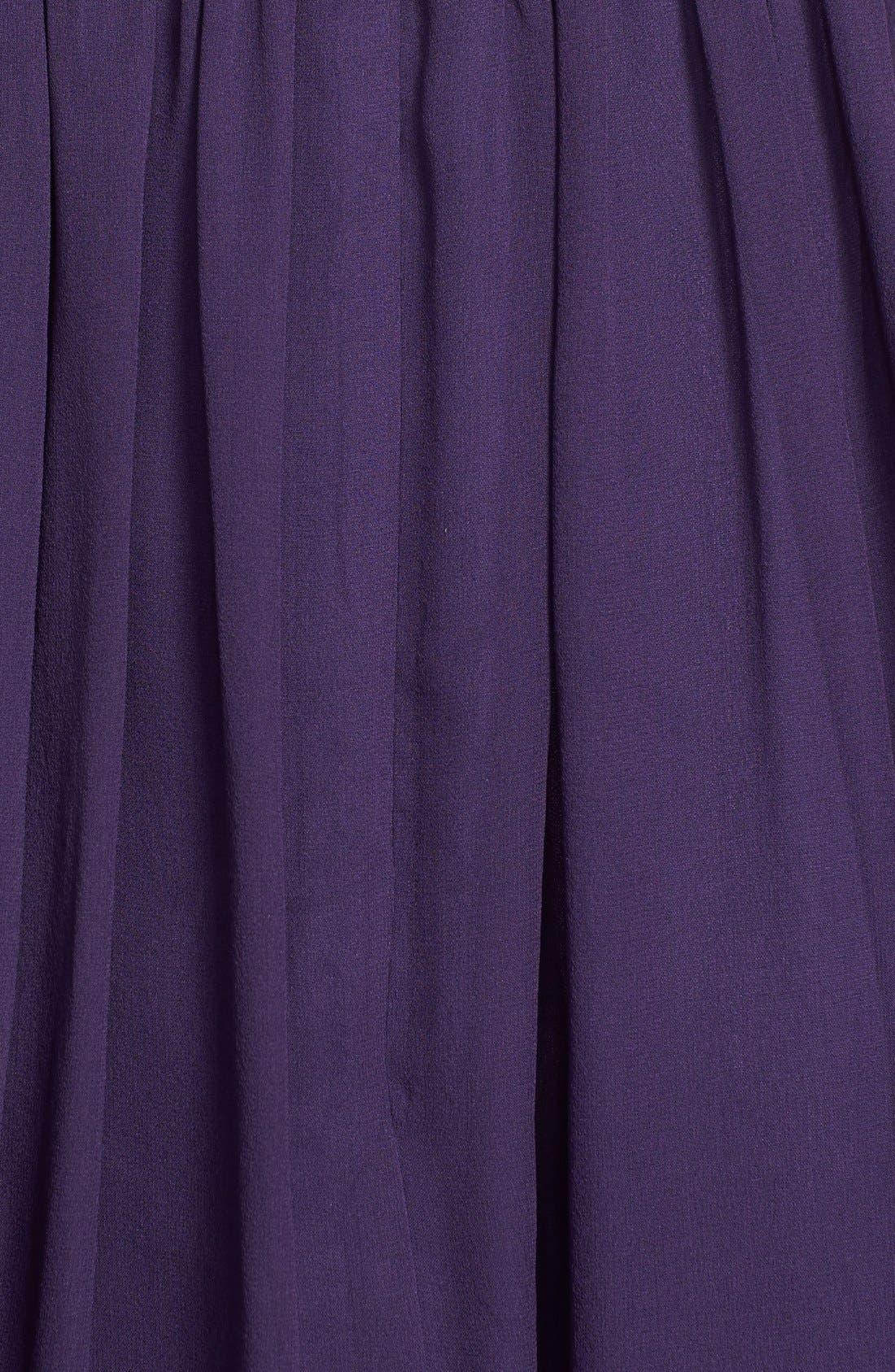 'Morgan' Strapless Silk Chiffon Dress,                             Main thumbnail 22, color,