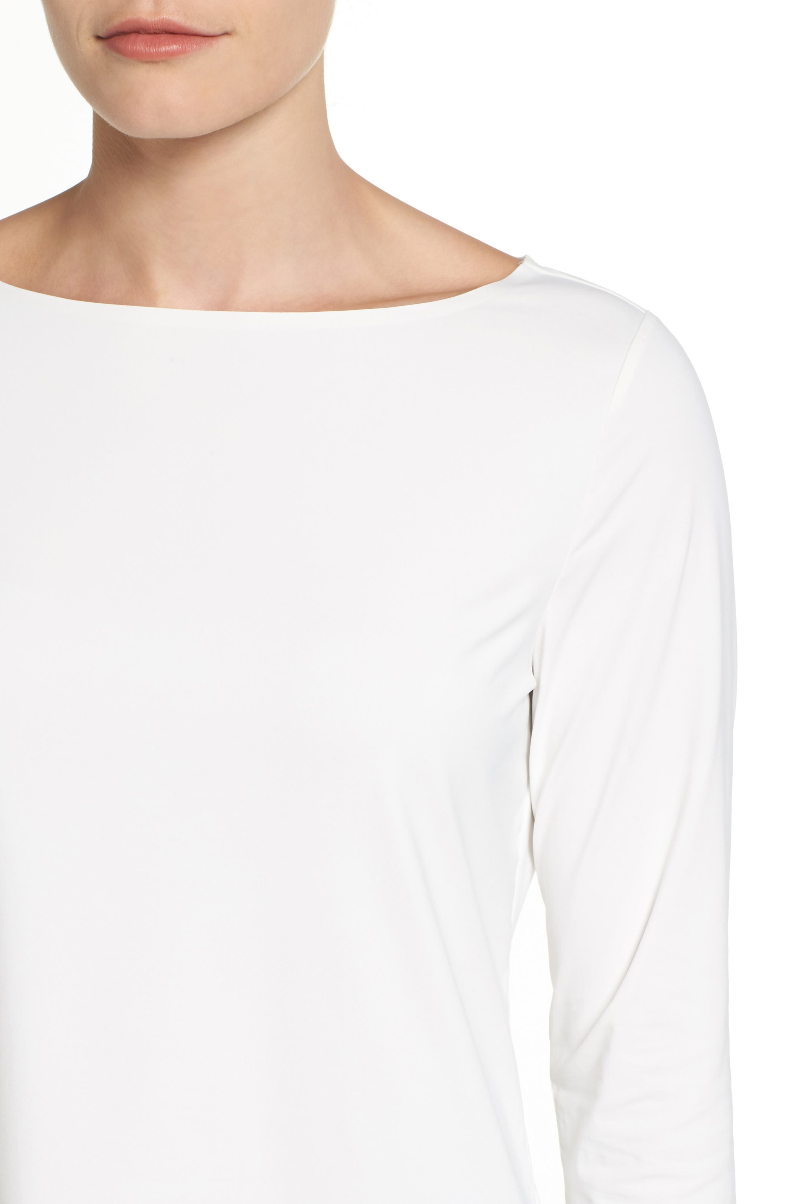 Three Quarter Sleeve Top,                             Alternate thumbnail 4, color,                             900