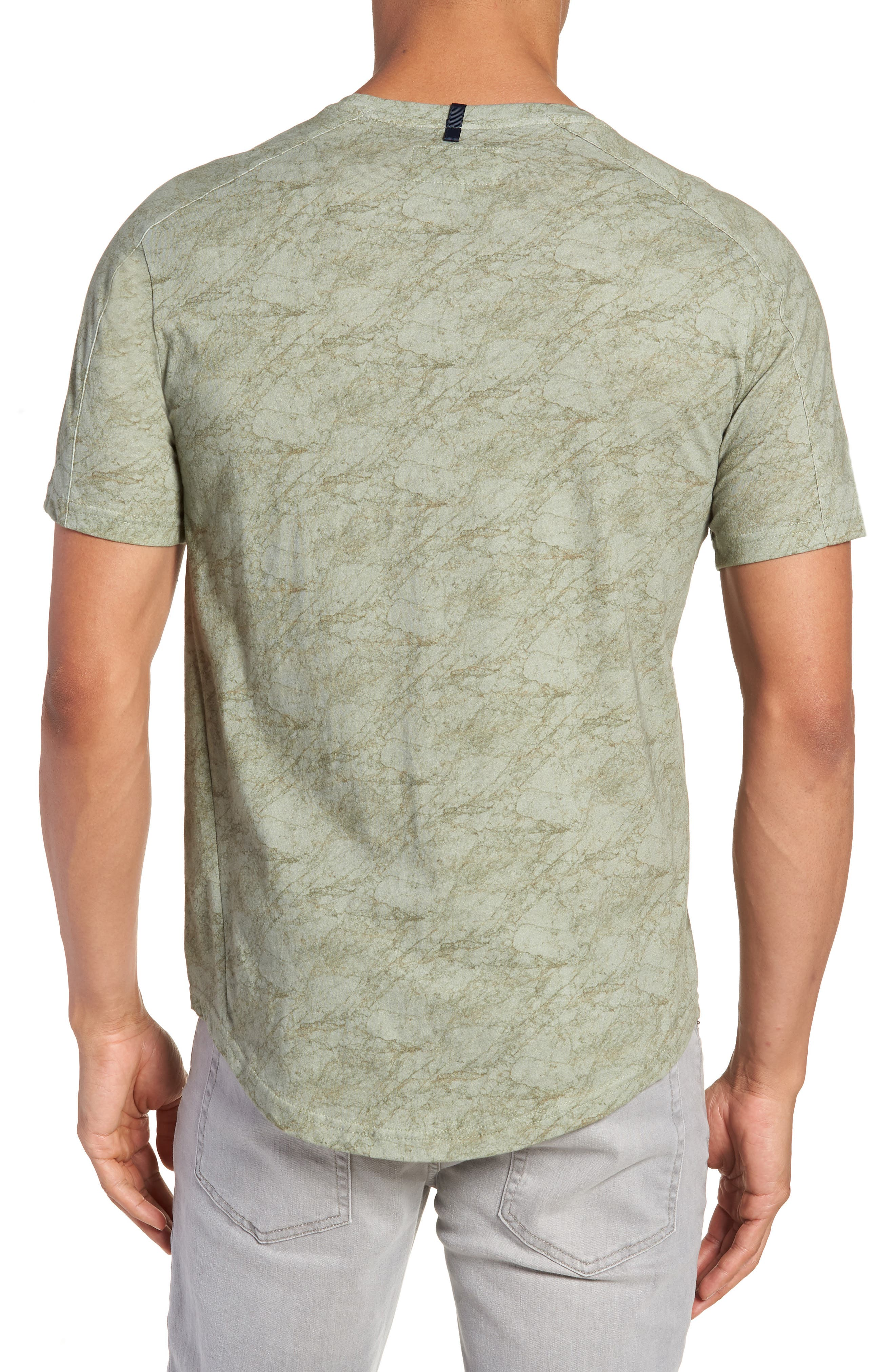 Chelsea Marble Print T-Shirt,                             Alternate thumbnail 2, color,                             300