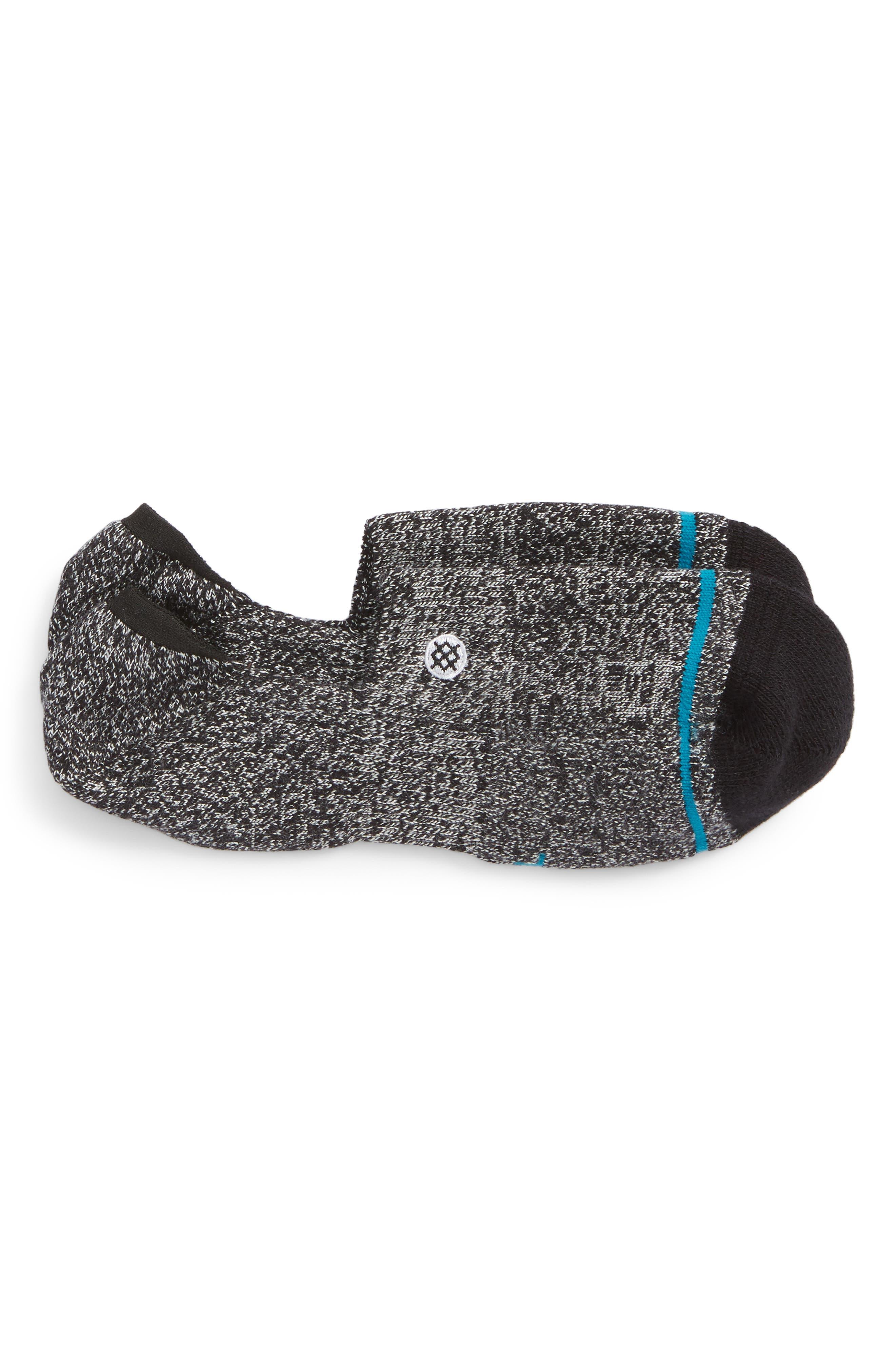 Moore No-Show Socks,                             Main thumbnail 1, color,                             BLACK