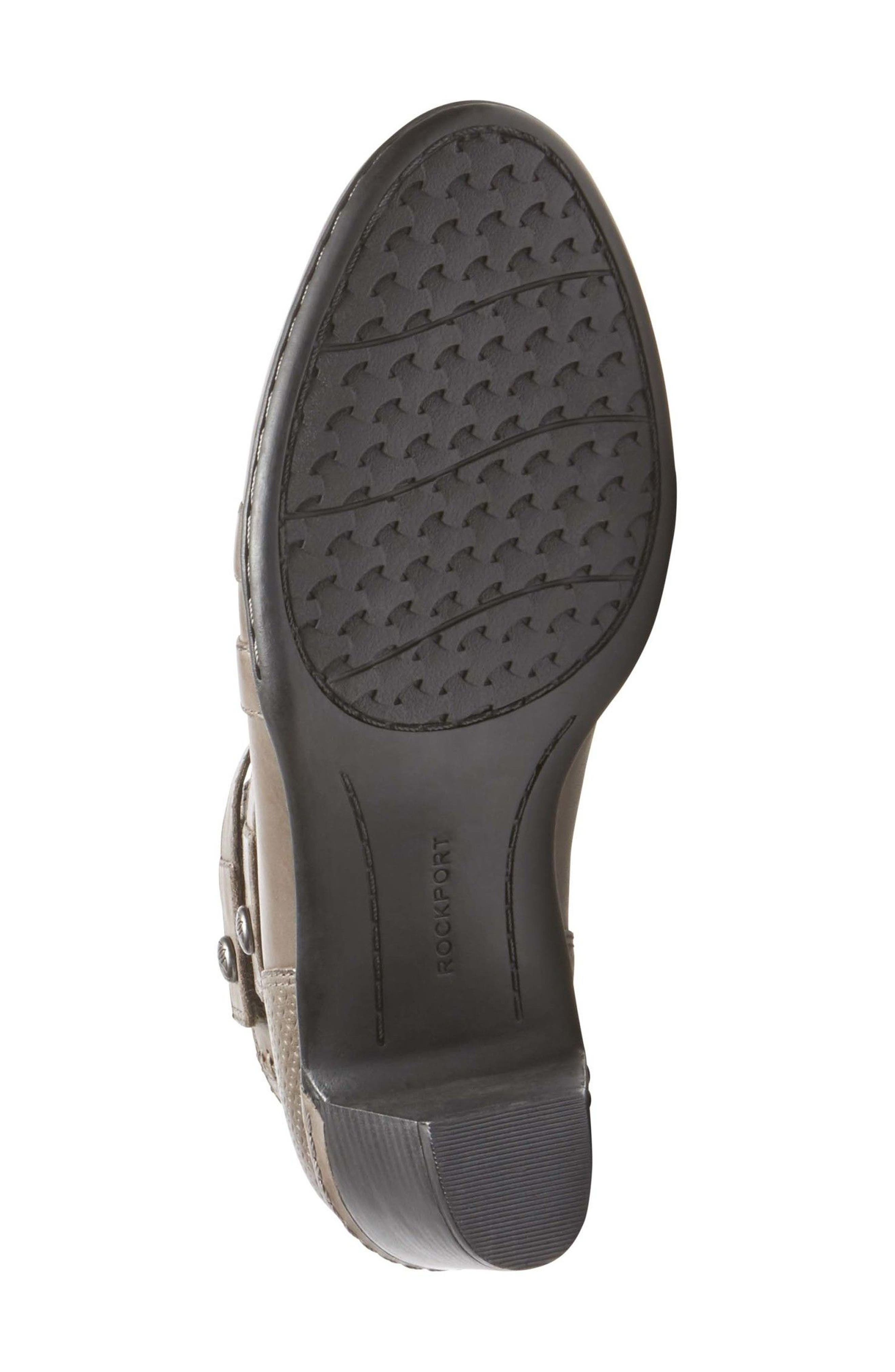 ROCKPORT COBB HILL,                             Rashel X-Strap Pump,                             Alternate thumbnail 6, color,                             STORMY GREY LEATHER