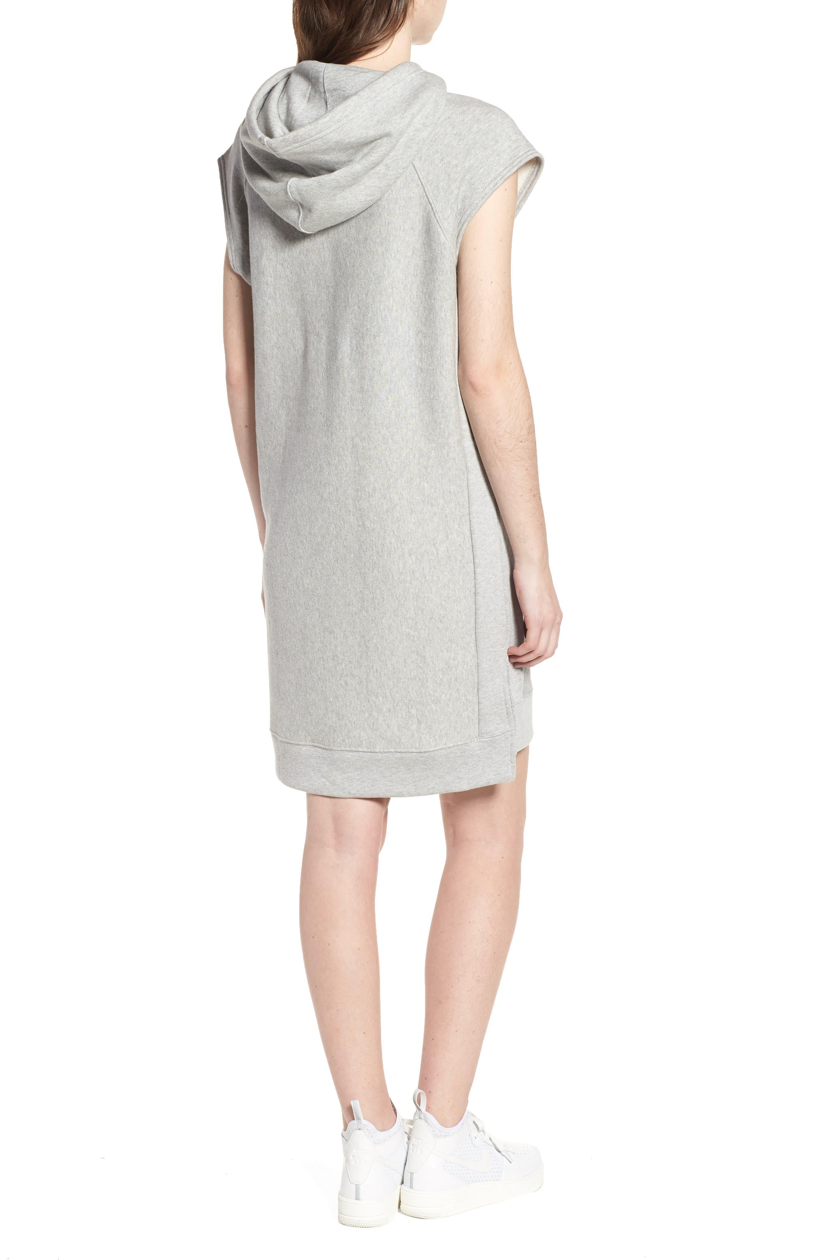 Hoodie Dress,                             Alternate thumbnail 2, color,                             021