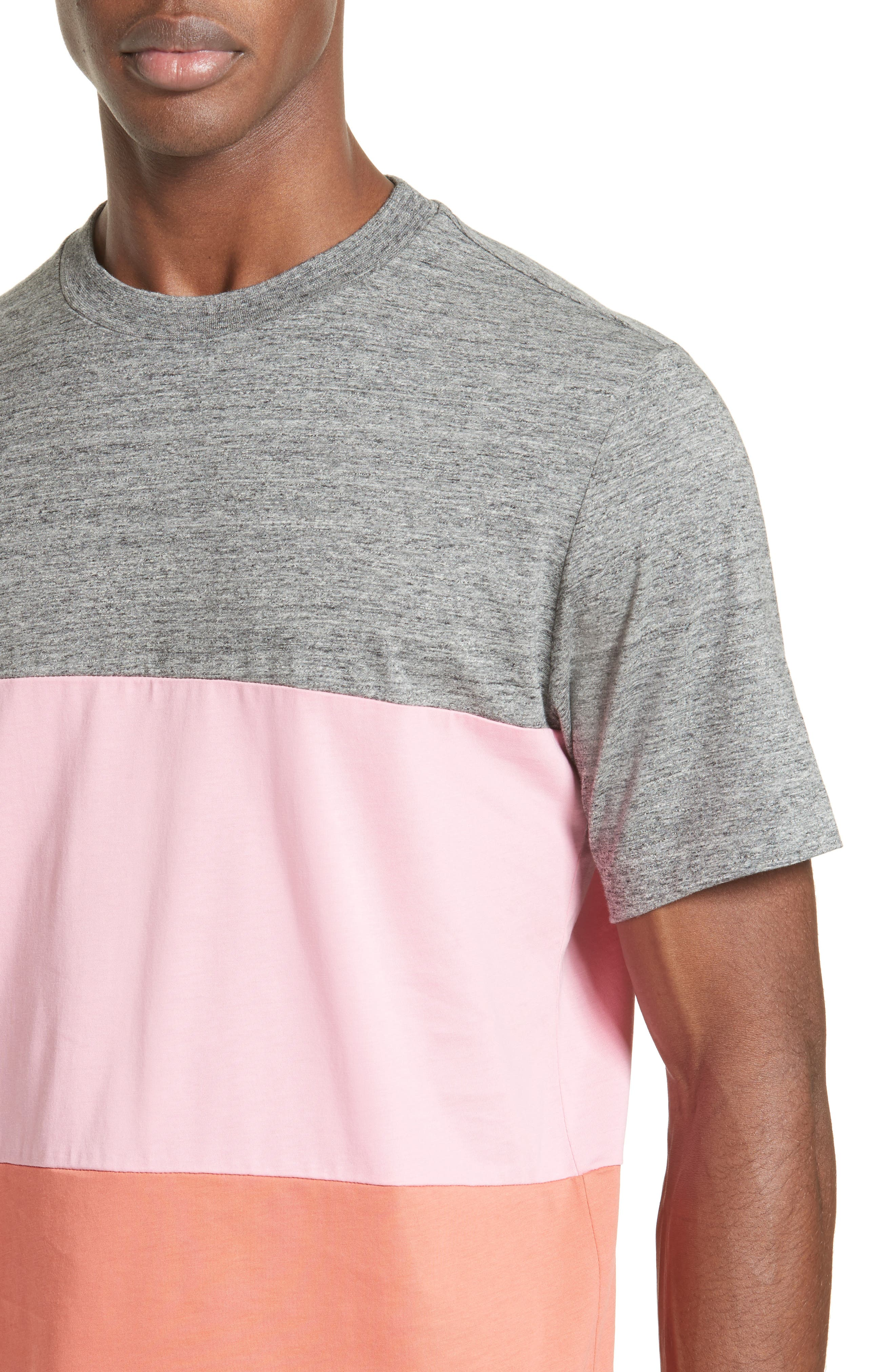 Bold Stripe T-Shirt,                             Alternate thumbnail 4, color,