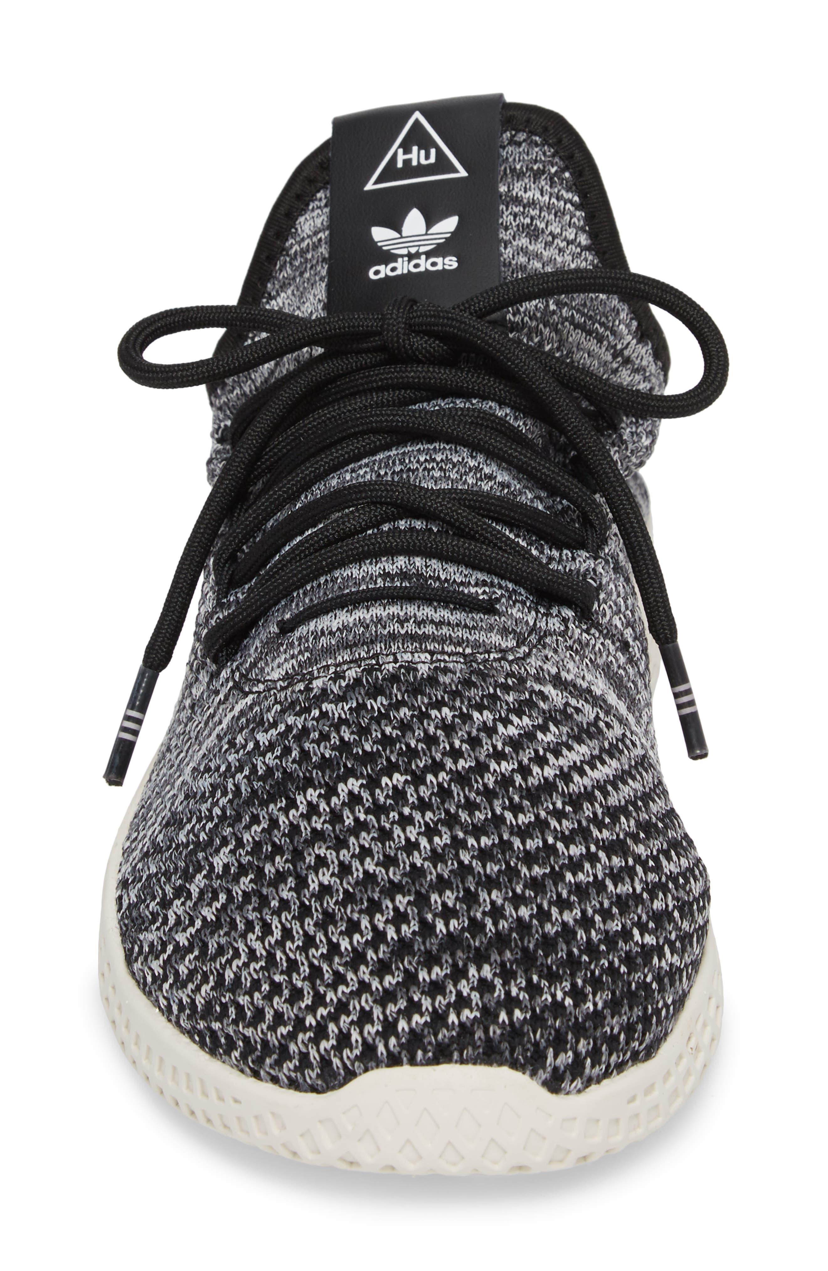 Pharrell Williams Tennis Hu Sneaker,                             Alternate thumbnail 4, color,                             020