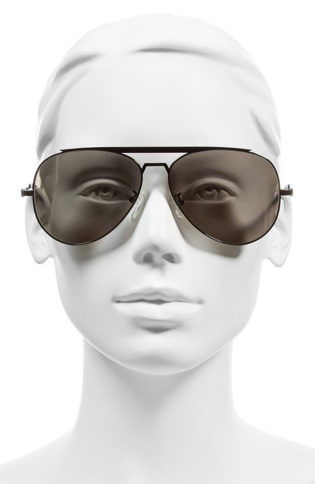 'Marshall' 62mm Aviator Sunglasses,                             Alternate thumbnail 2, color,                             001
