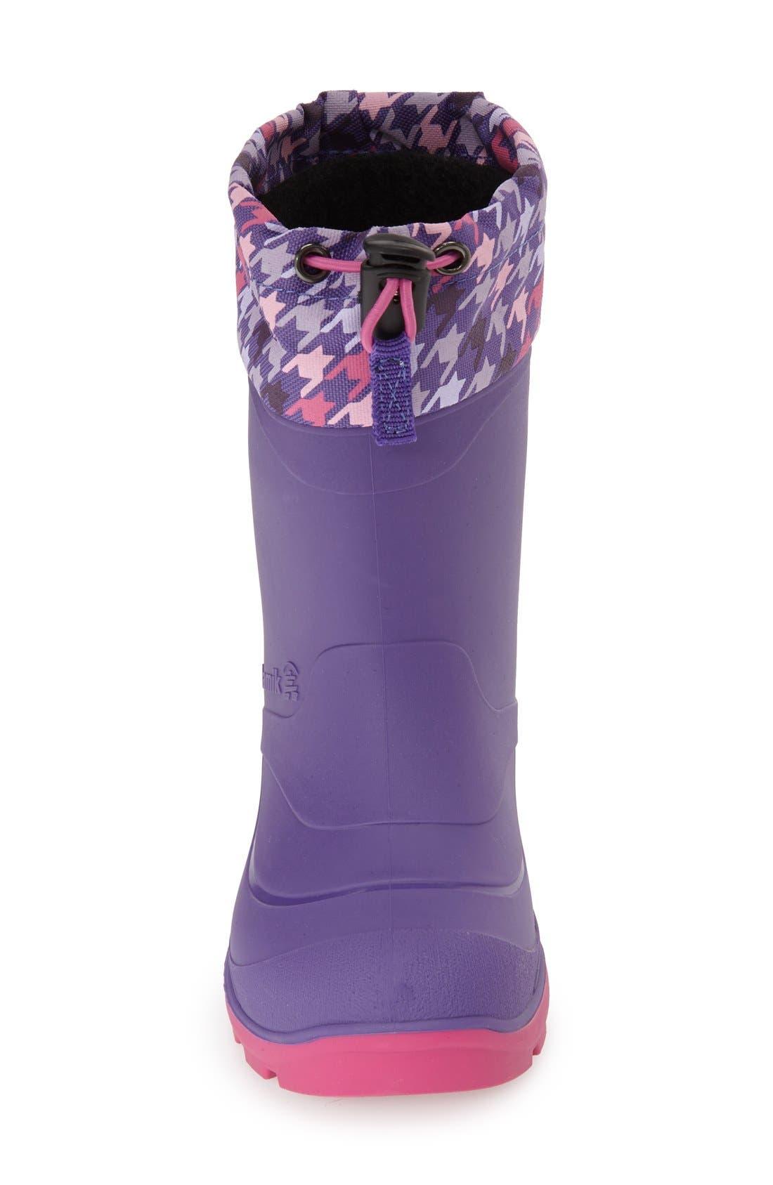 KAMIK,                             'Snobuster 2' Snow Boot,                             Alternate thumbnail 4, color,                             510