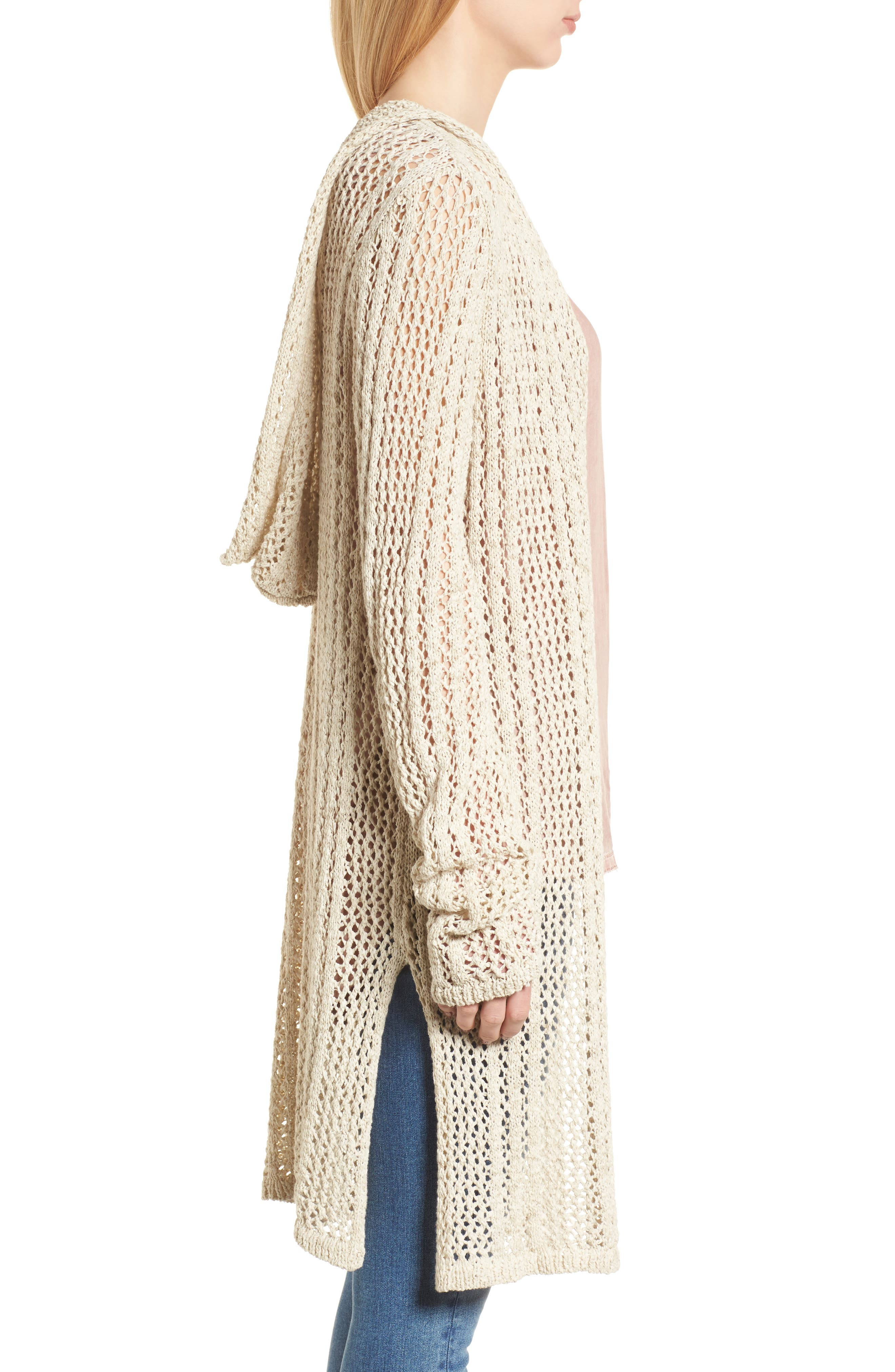Knox Hooded Cardigan,                             Alternate thumbnail 6, color,