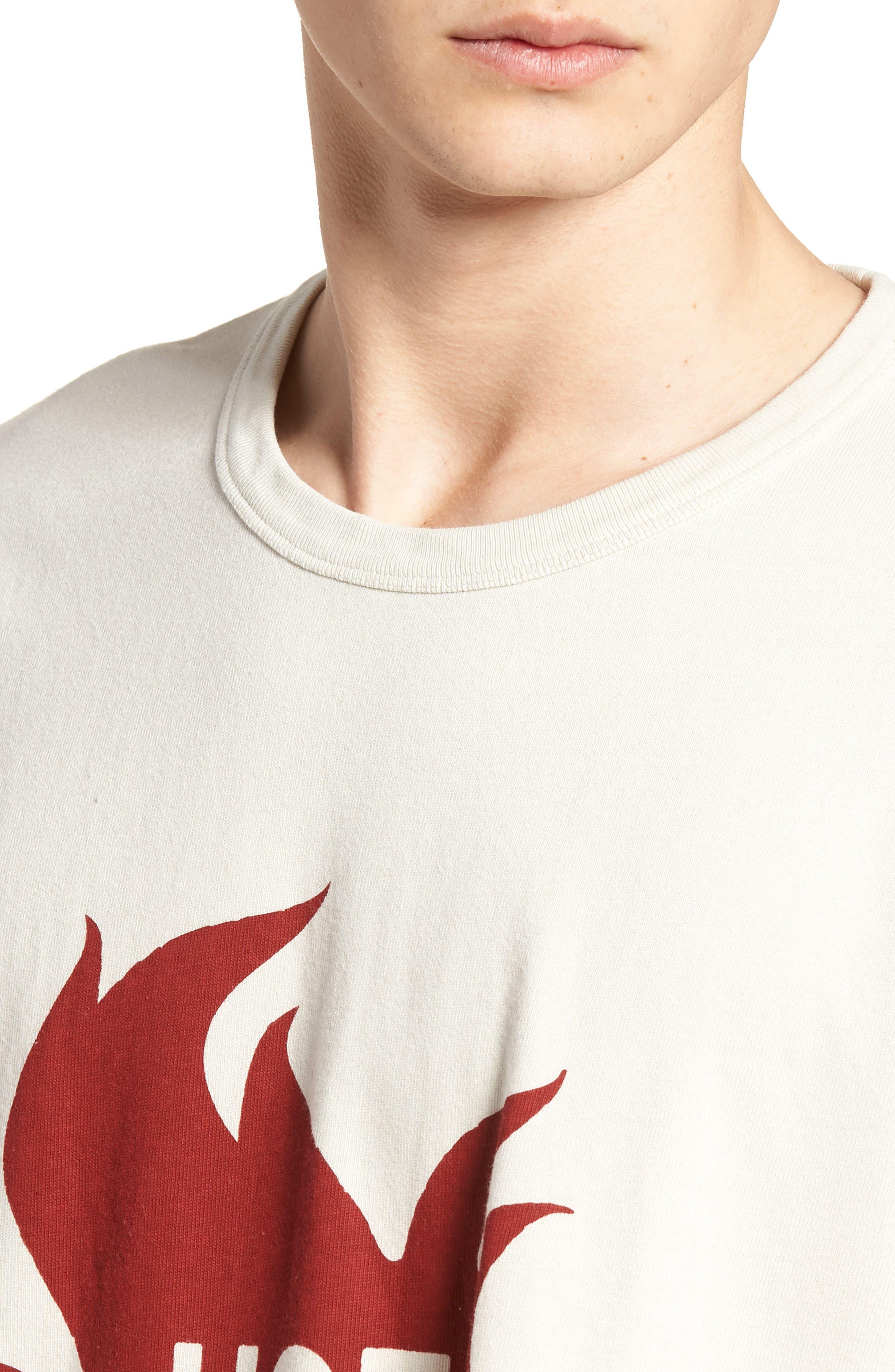 1960s Loose Fit T-Shirt,                             Alternate thumbnail 4, color,                             100