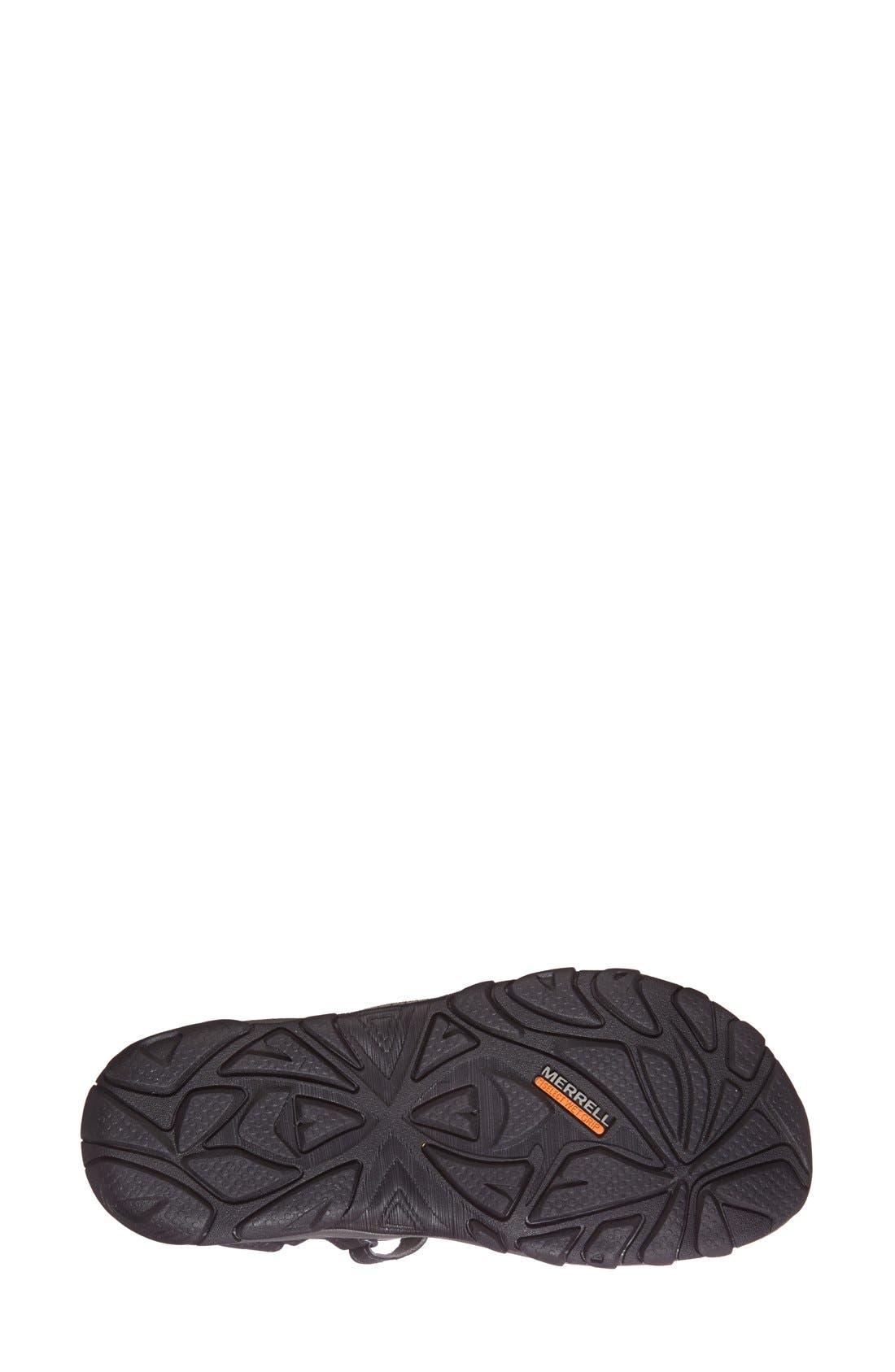 'Enoki' Water-Resistant Sandal,                             Alternate thumbnail 3, color,                             001