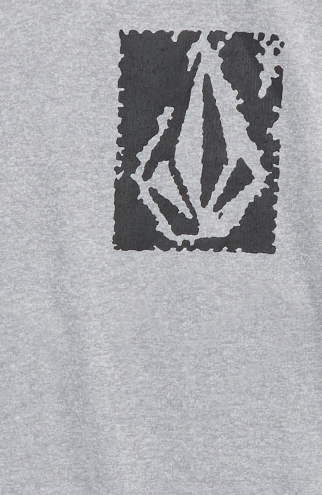 Lido Short Sleeve Rashguard,                             Alternate thumbnail 3, color,                             020