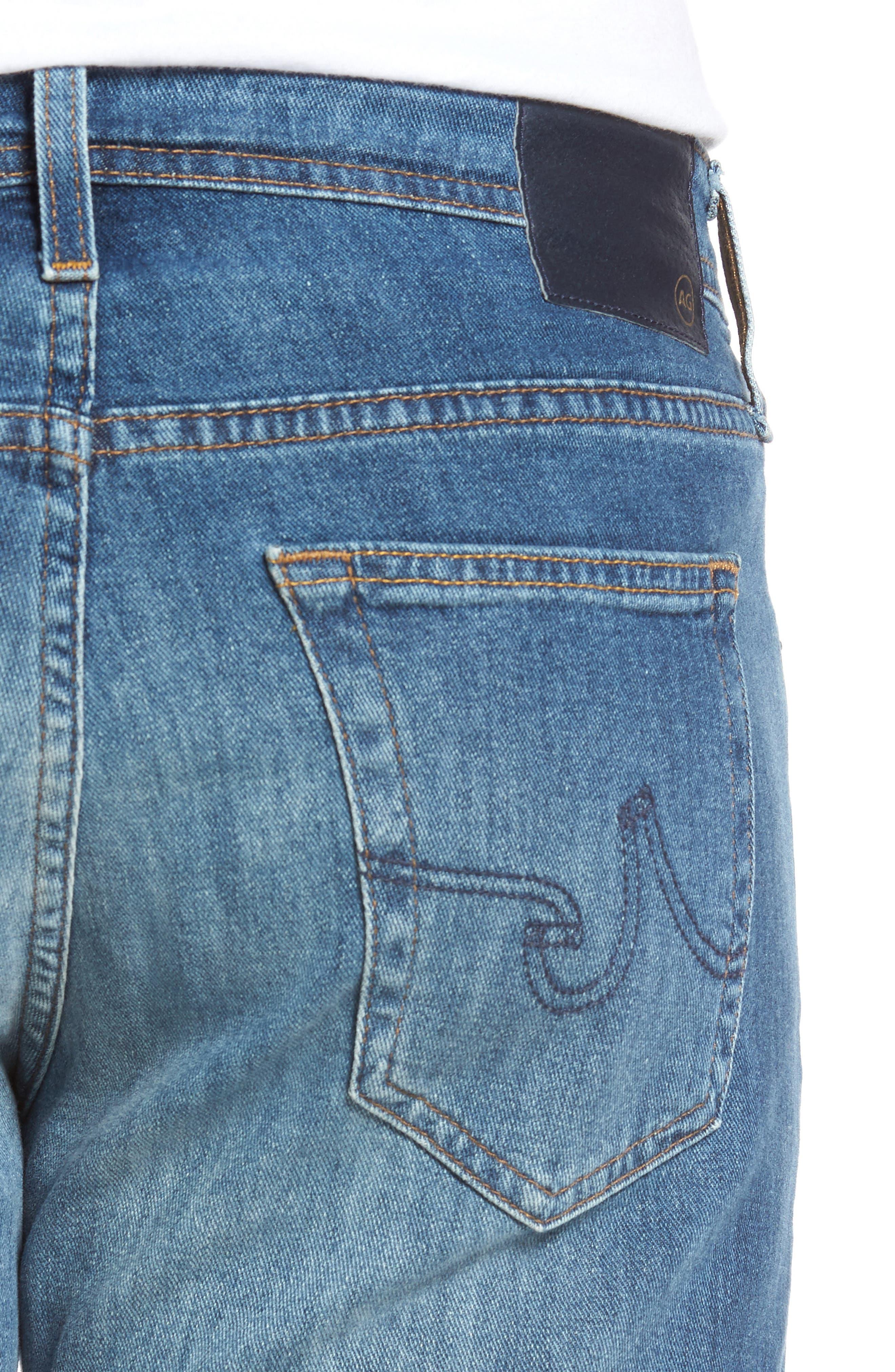 AG,                             Protégé Relaxed Fit Jeans,                             Alternate thumbnail 4, color,                             433