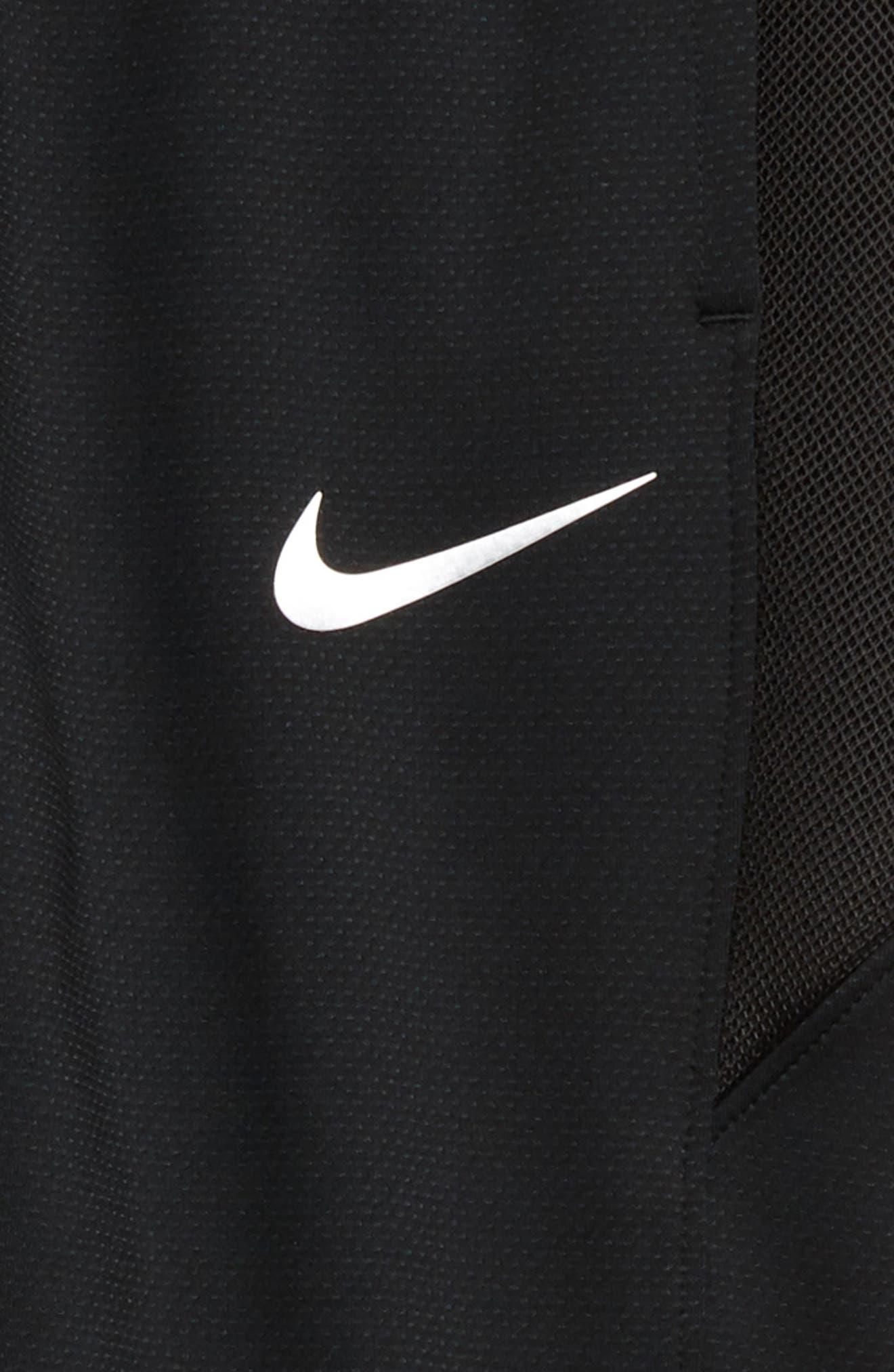 Dry Therma Flex Showtime Basketball Pants,                             Alternate thumbnail 2, color,                             BLACK/ METALLIC SILVER