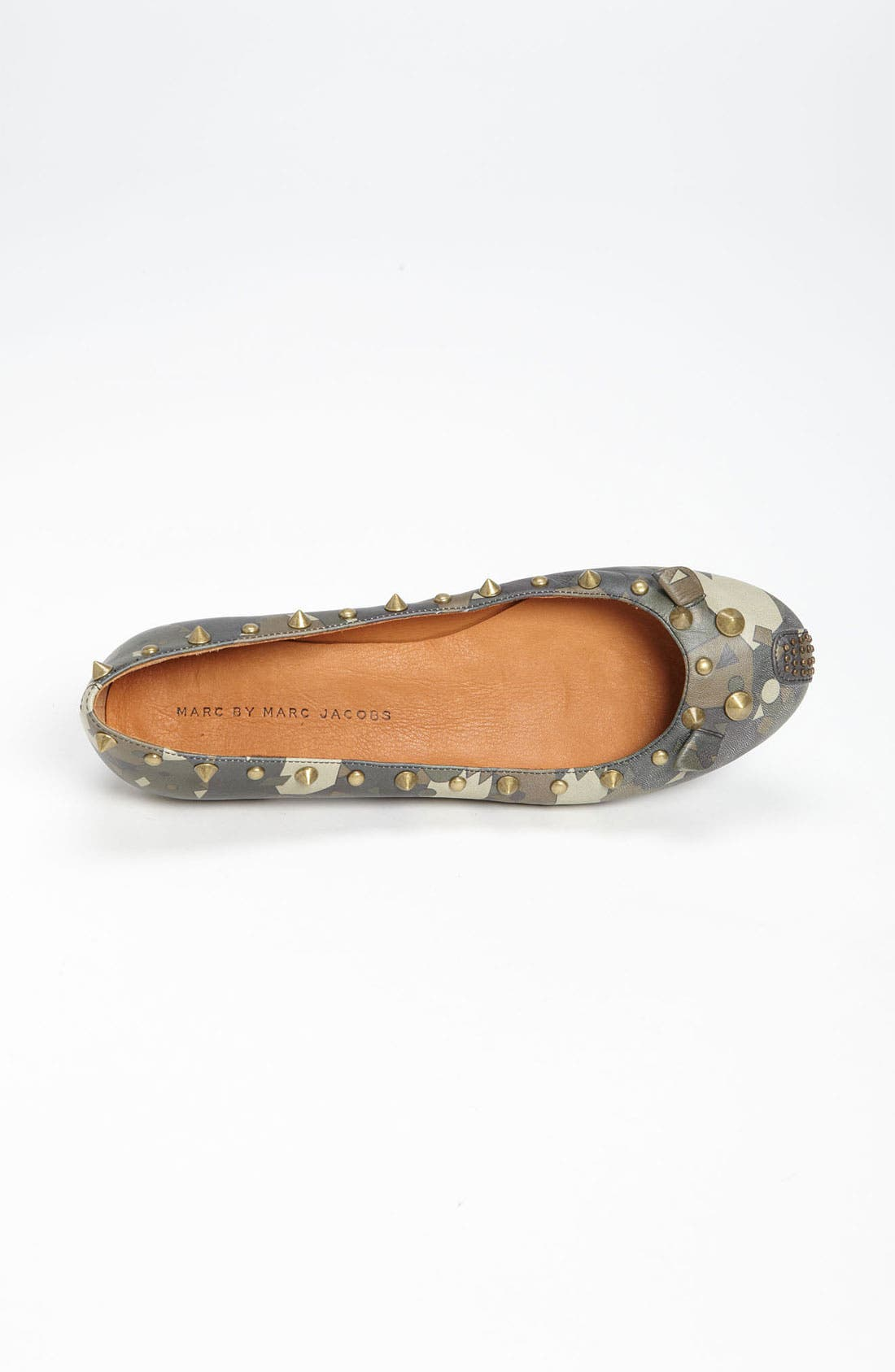 MARC BY MARC JACOBS 'Mouse' Ballerina Flat,                             Alternate thumbnail 2, color,                             357
