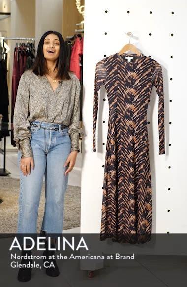 Tie Dye Mesh Midi Dress, sales video thumbnail