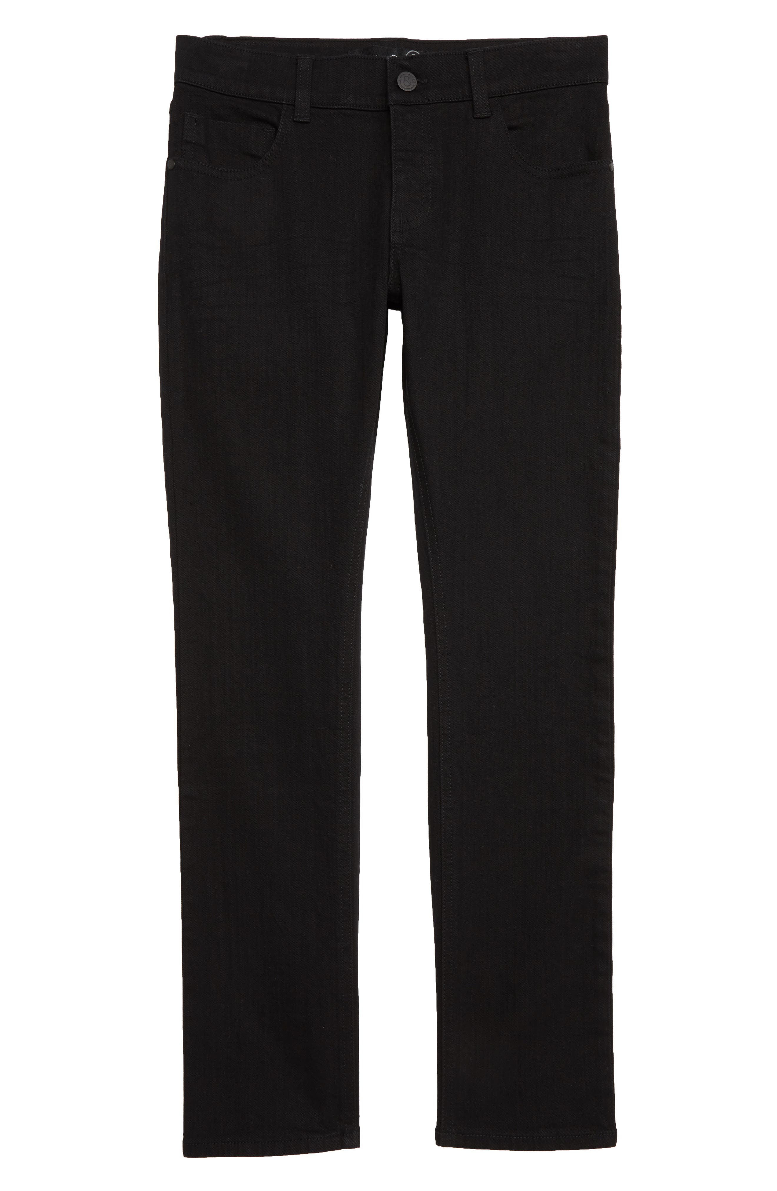 Skinny Jeans,                             Main thumbnail 1, color,                             EASY BLACK WASH