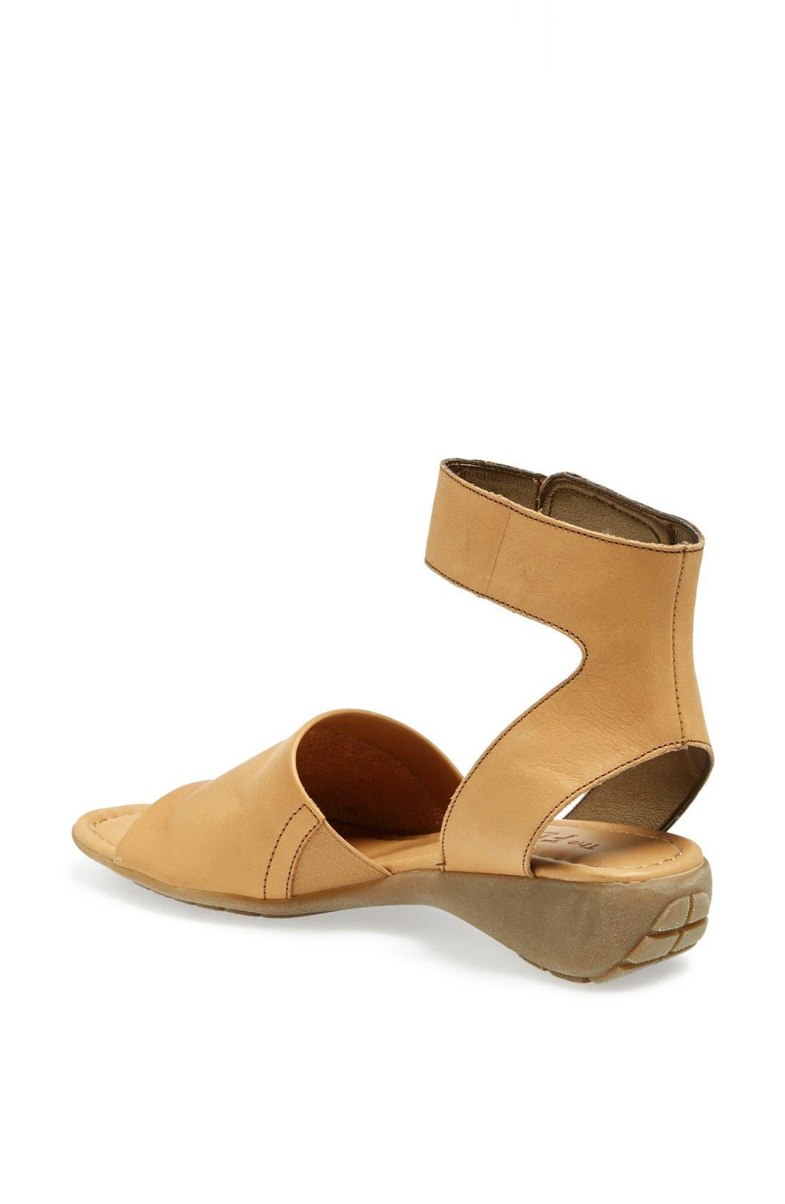 'Beglad' Leather Ankle Strap Sandal,                             Alternate thumbnail 25, color,