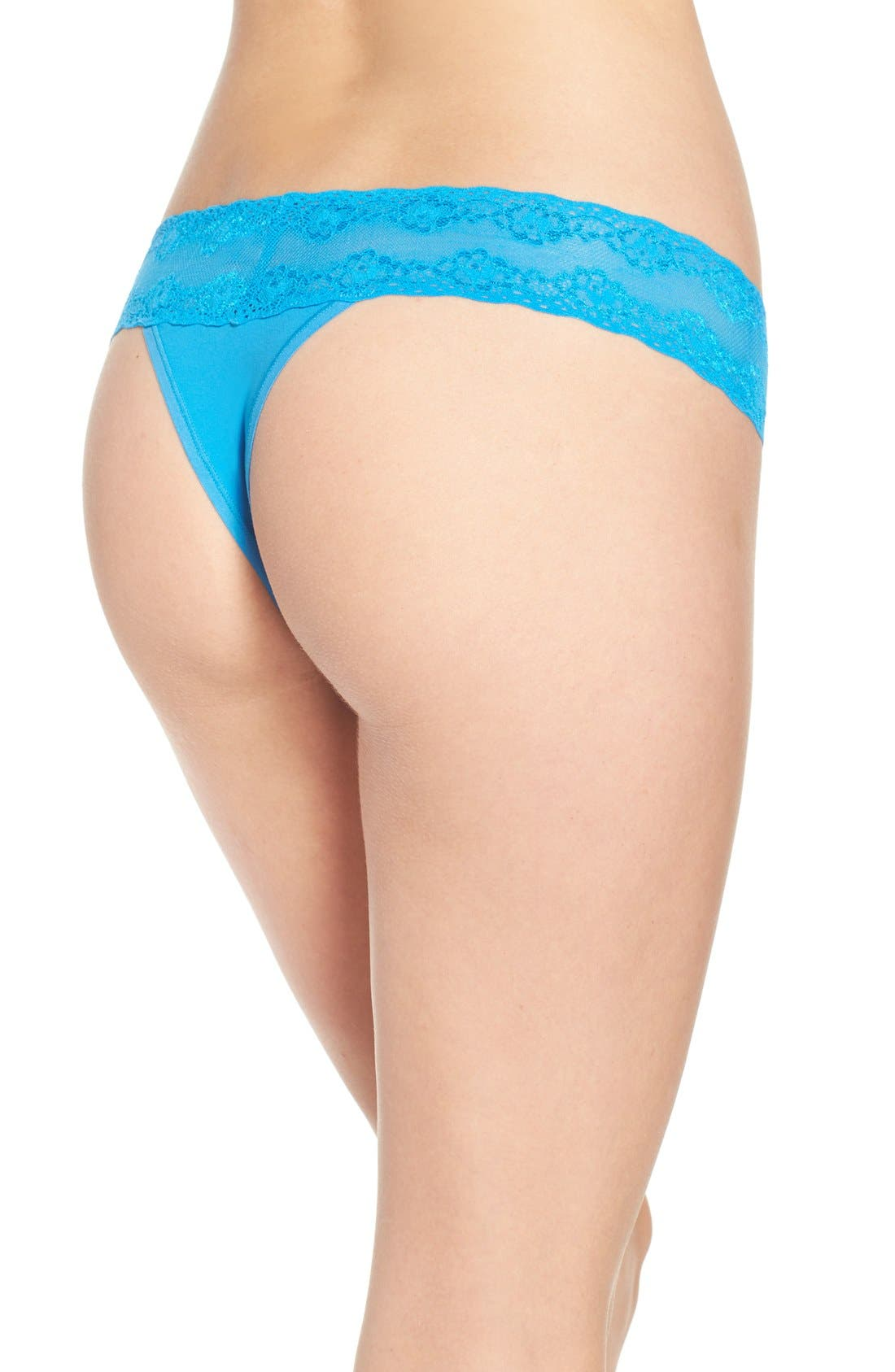 Bliss Perfection Thong,                             Alternate thumbnail 159, color,